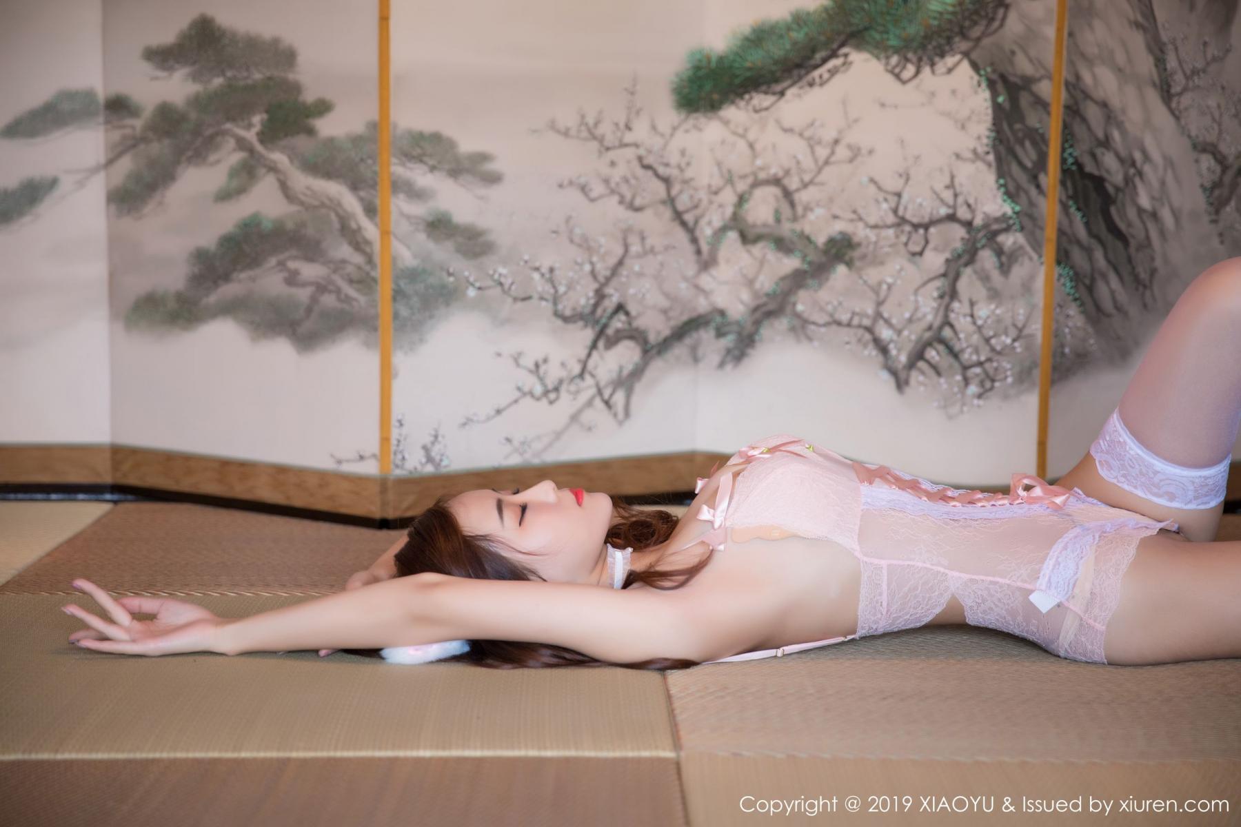 [XiaoYu] Vol.001 Hu Ya Mao Bao 3P, Hu Ya Mao Bao, Tall, Underwear, XiaoYu
