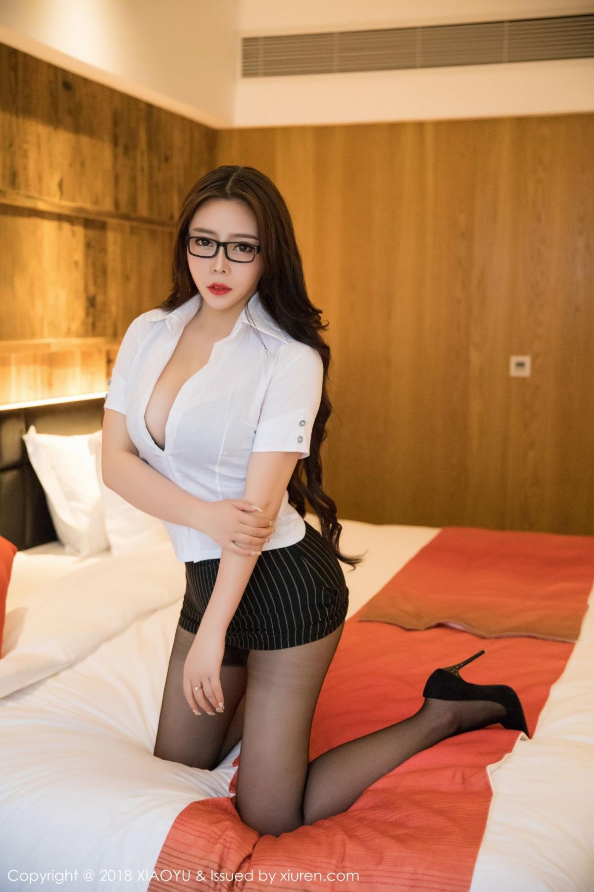 [XiaoYu] Vol.002 Miki Tu 14P, Black Silk, Miki Tu, XiaoYu