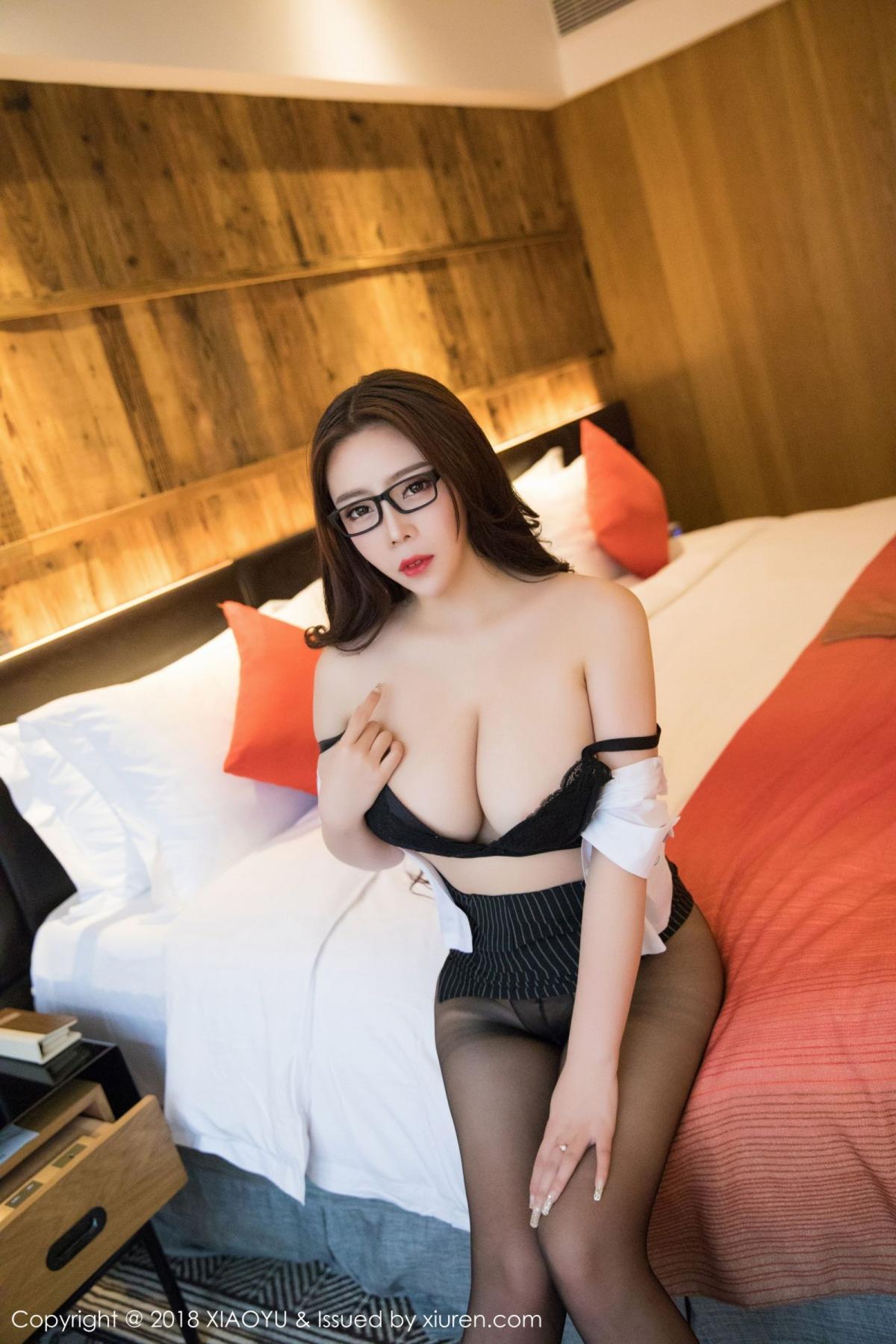 [XiaoYu] Vol.002 Miki Tu 19P, Black Silk, Miki Tu, XiaoYu
