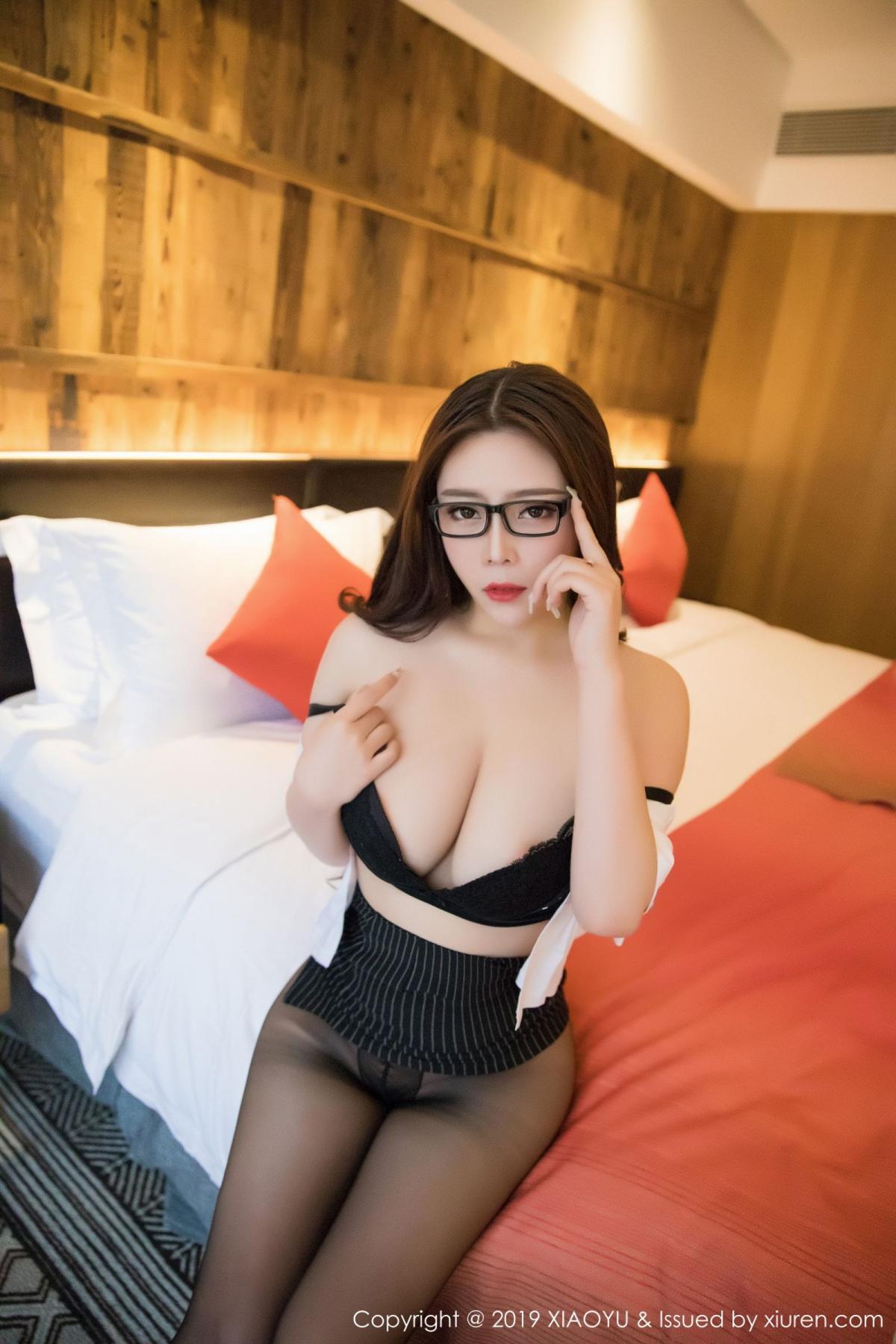 [XiaoYu] Vol.002 Miki Tu 21P, Black Silk, Miki Tu, XiaoYu
