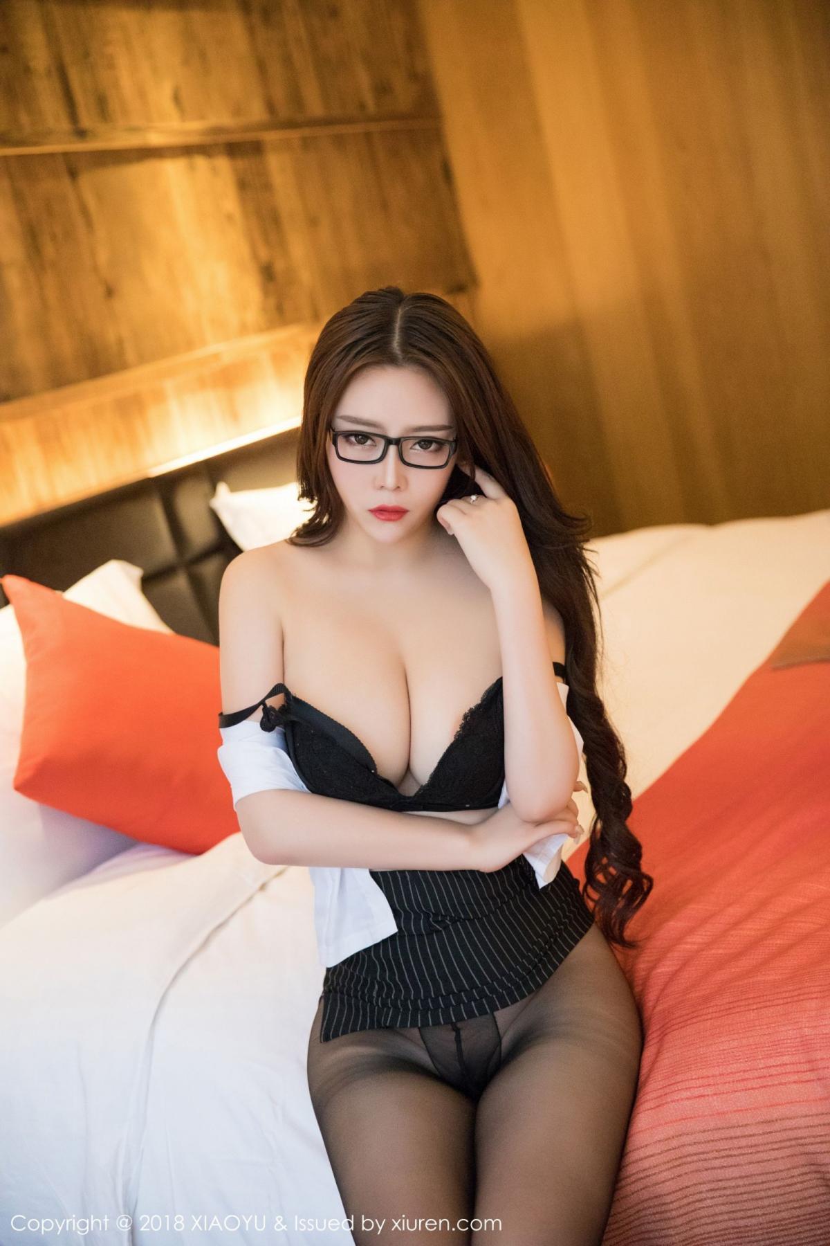 [XiaoYu] Vol.002 Miki Tu 22P, Black Silk, Miki Tu, XiaoYu