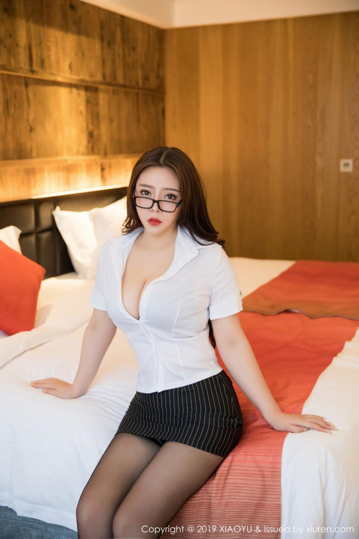 [XiaoYu] Vol.002 Miki Tu 46P, Black Silk, Miki Tu, XiaoYu