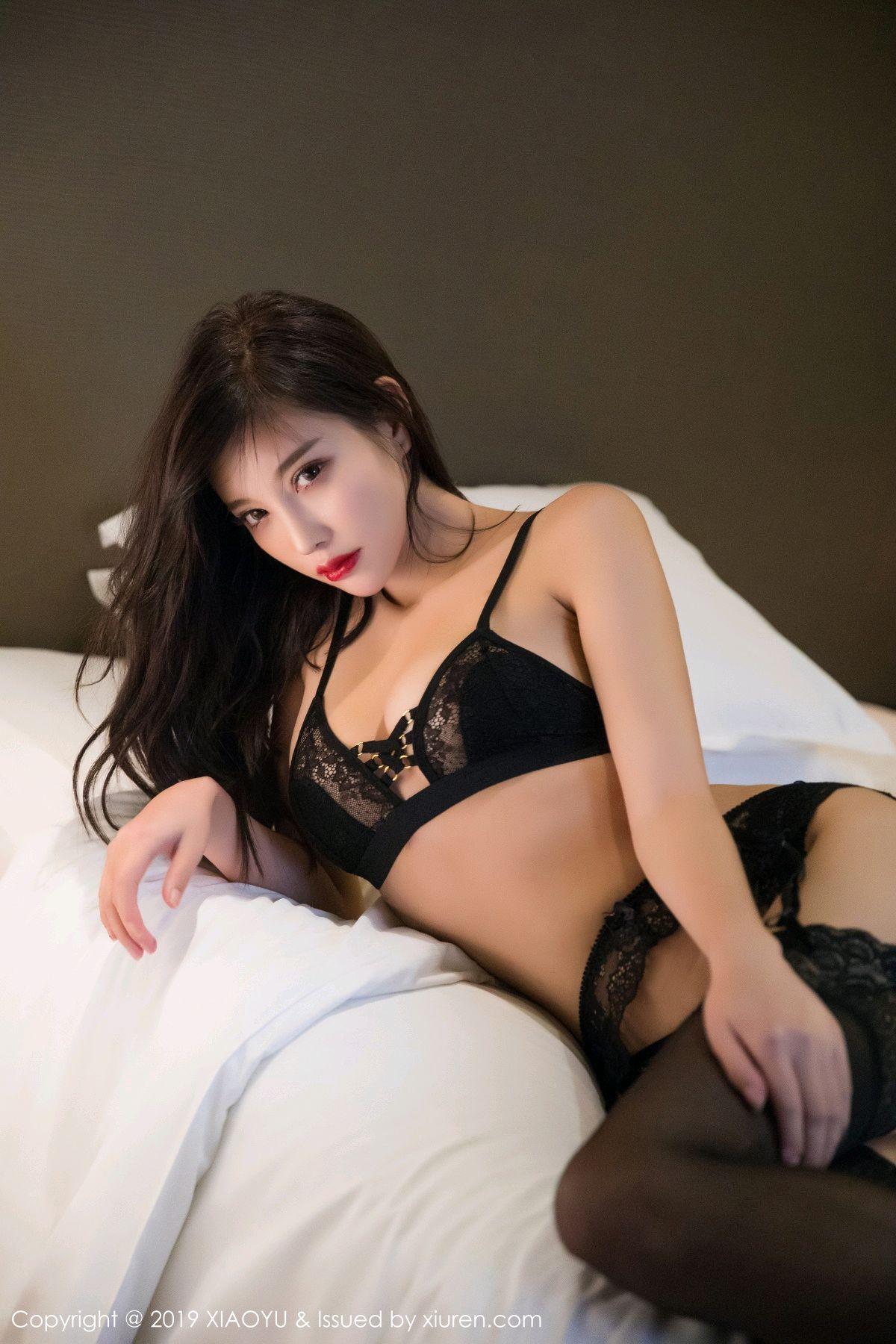 [XiaoYu] Vol.005 Yang Chen Chen 62P, Black Silk, Tall, Uniform, XiaoYu, Yang Chen Chen