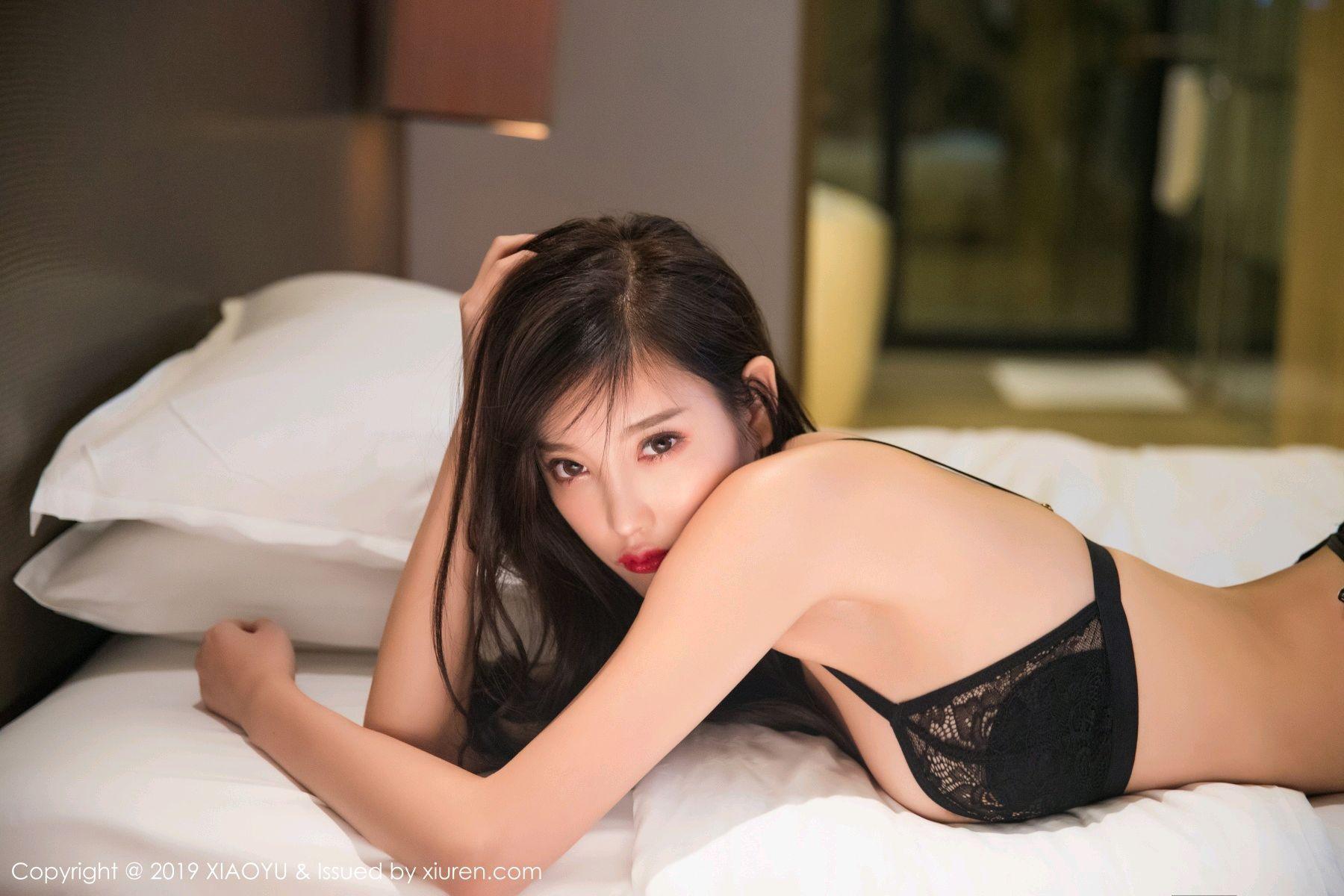 [XiaoYu] Vol.005 Yang Chen Chen 66P, Black Silk, Tall, Uniform, XiaoYu, Yang Chen Chen