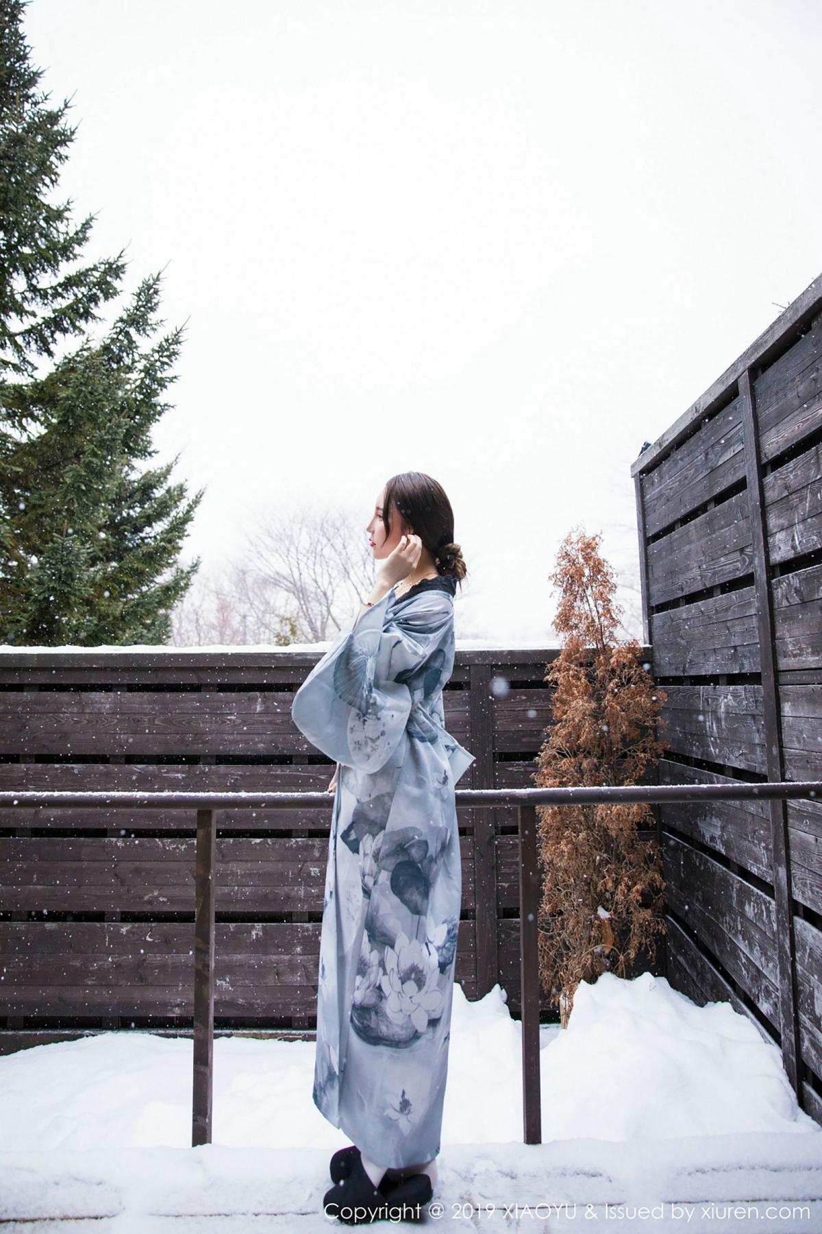 [XiaoYu] Vol.007 Zhou Yu Xi 12P, Snow, Tall, XiaoYu, Zhou Yu Xi