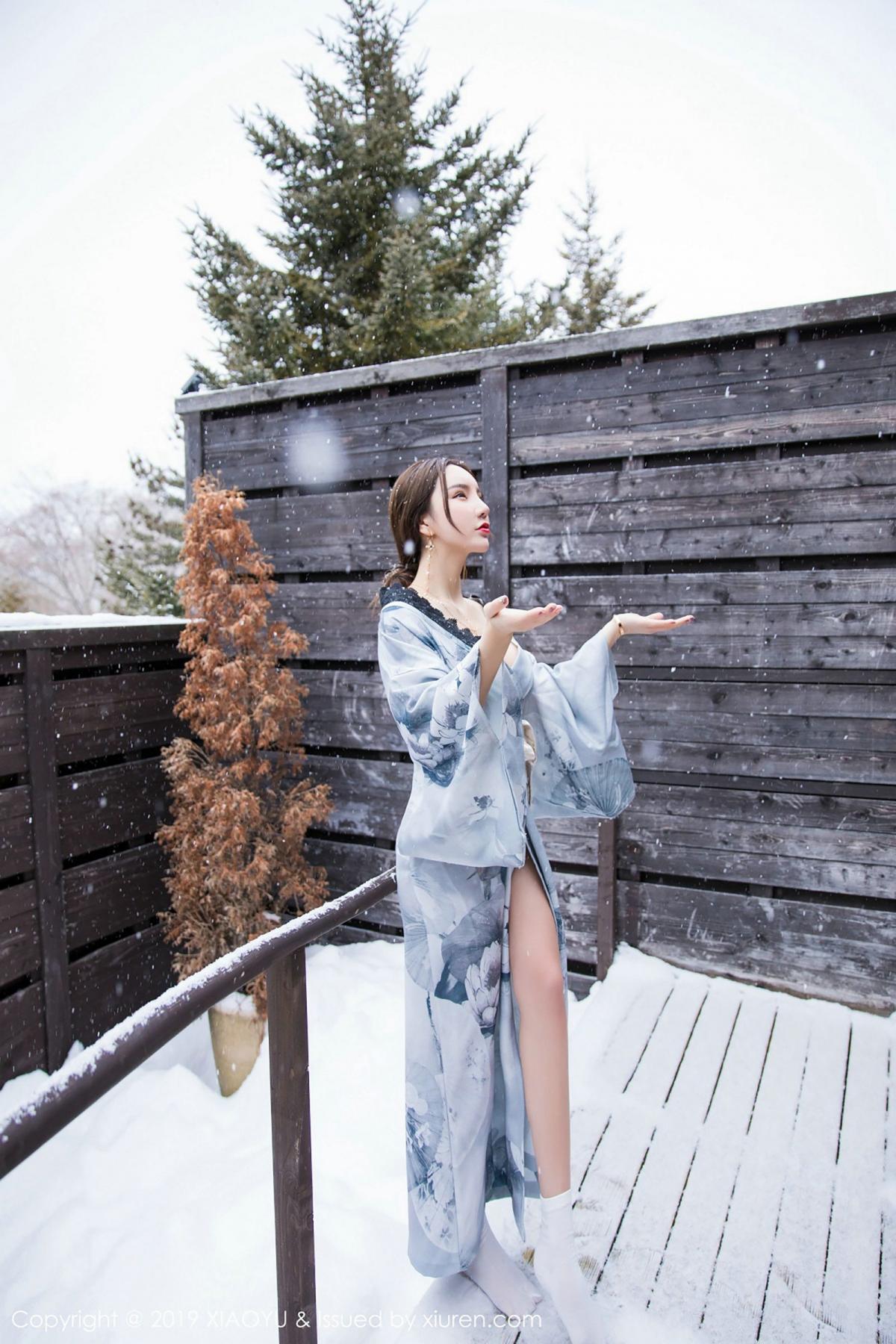 [XiaoYu] Vol.007 Zhou Yu Xi 13P, Snow, Tall, XiaoYu, Zhou Yu Xi