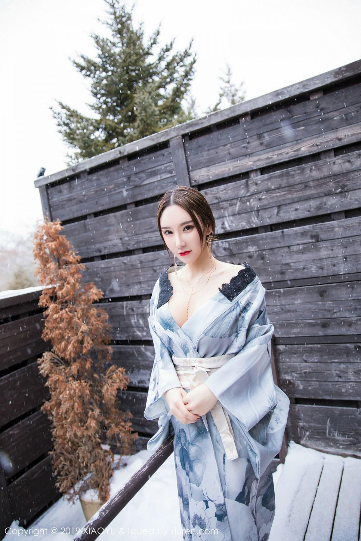 [XiaoYu] Vol.007 Zhou Yu Xi 16P, Snow, Tall, XiaoYu, Zhou Yu Xi