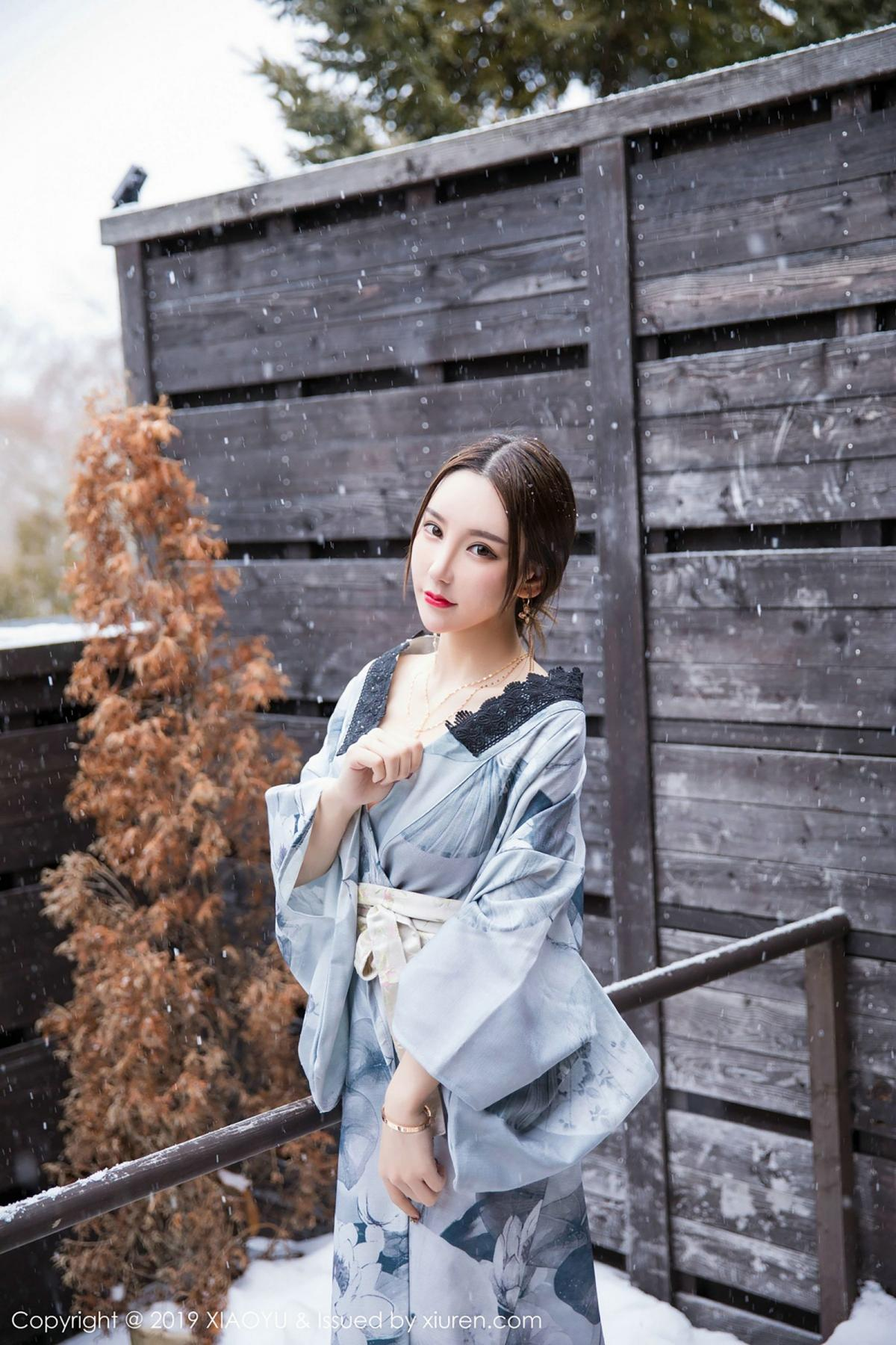 [XiaoYu] Vol.007 Zhou Yu Xi 18P, Snow, Tall, XiaoYu, Zhou Yu Xi