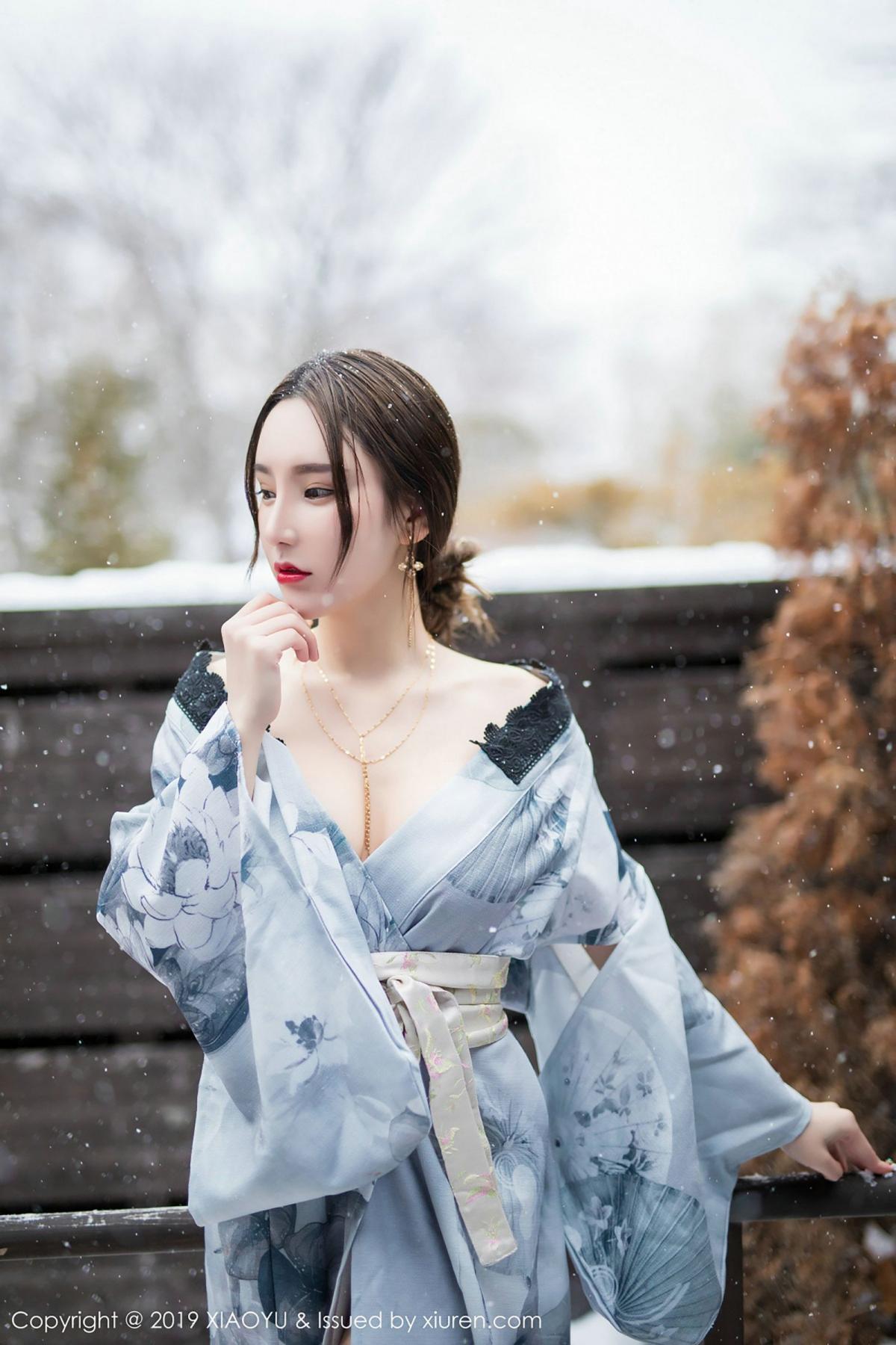[XiaoYu] Vol.007 Zhou Yu Xi 25P, Snow, Tall, XiaoYu, Zhou Yu Xi