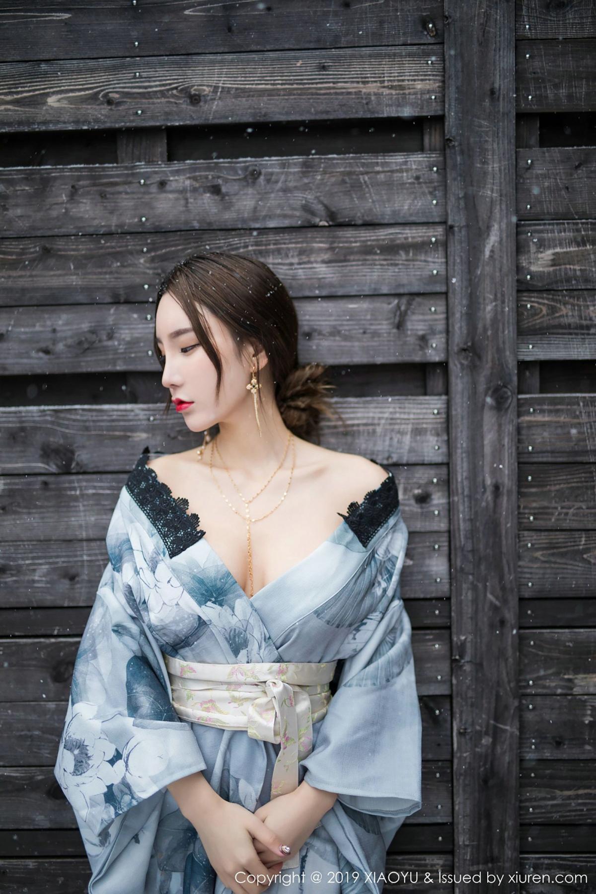 [XiaoYu] Vol.007 Zhou Yu Xi 29P, Snow, Tall, XiaoYu, Zhou Yu Xi