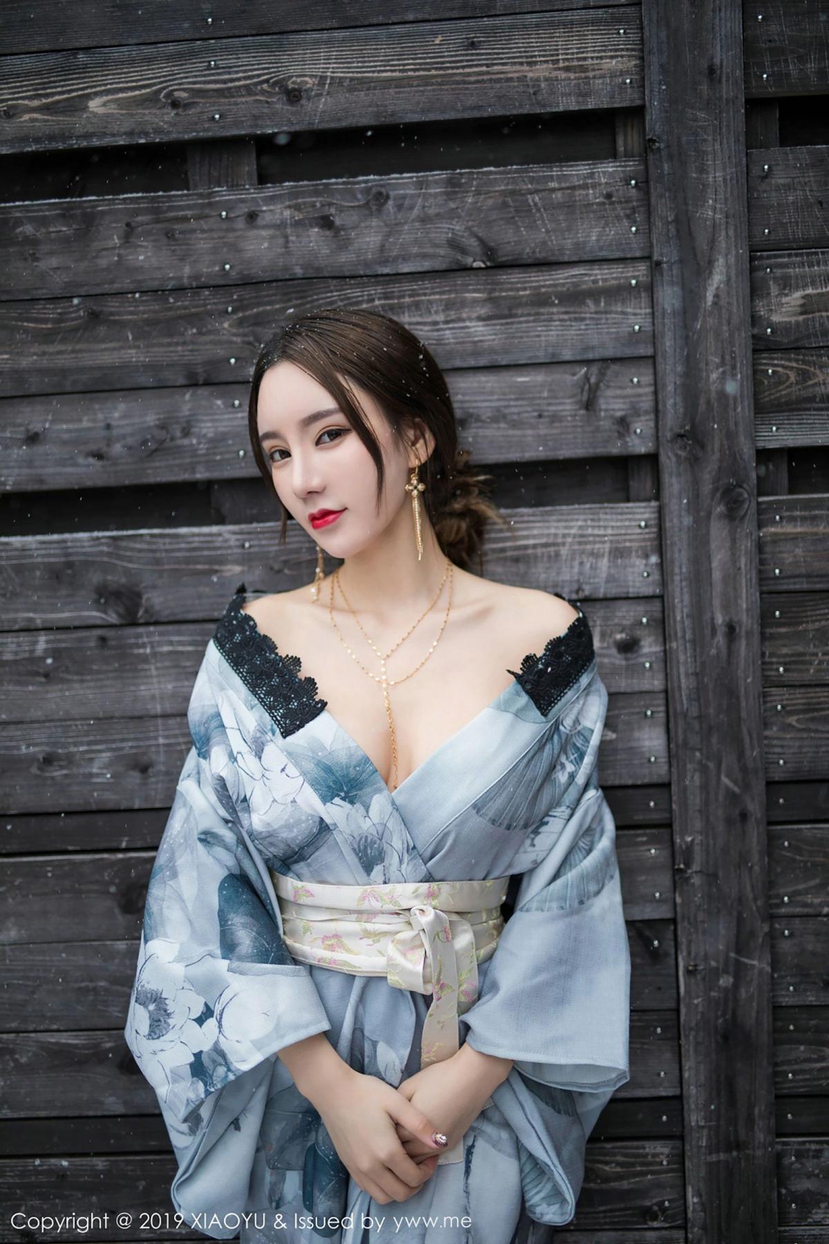 [XiaoYu] Vol.007 Zhou Yu Xi 30P, Snow, Tall, XiaoYu, Zhou Yu Xi