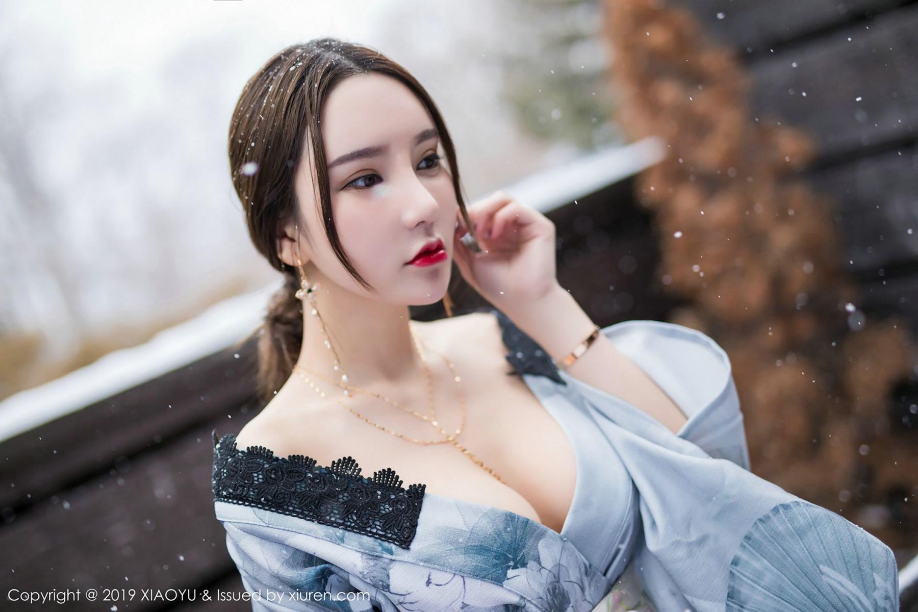 [XiaoYu] Vol.007 Zhou Yu Xi 33P, Snow, Tall, XiaoYu, Zhou Yu Xi