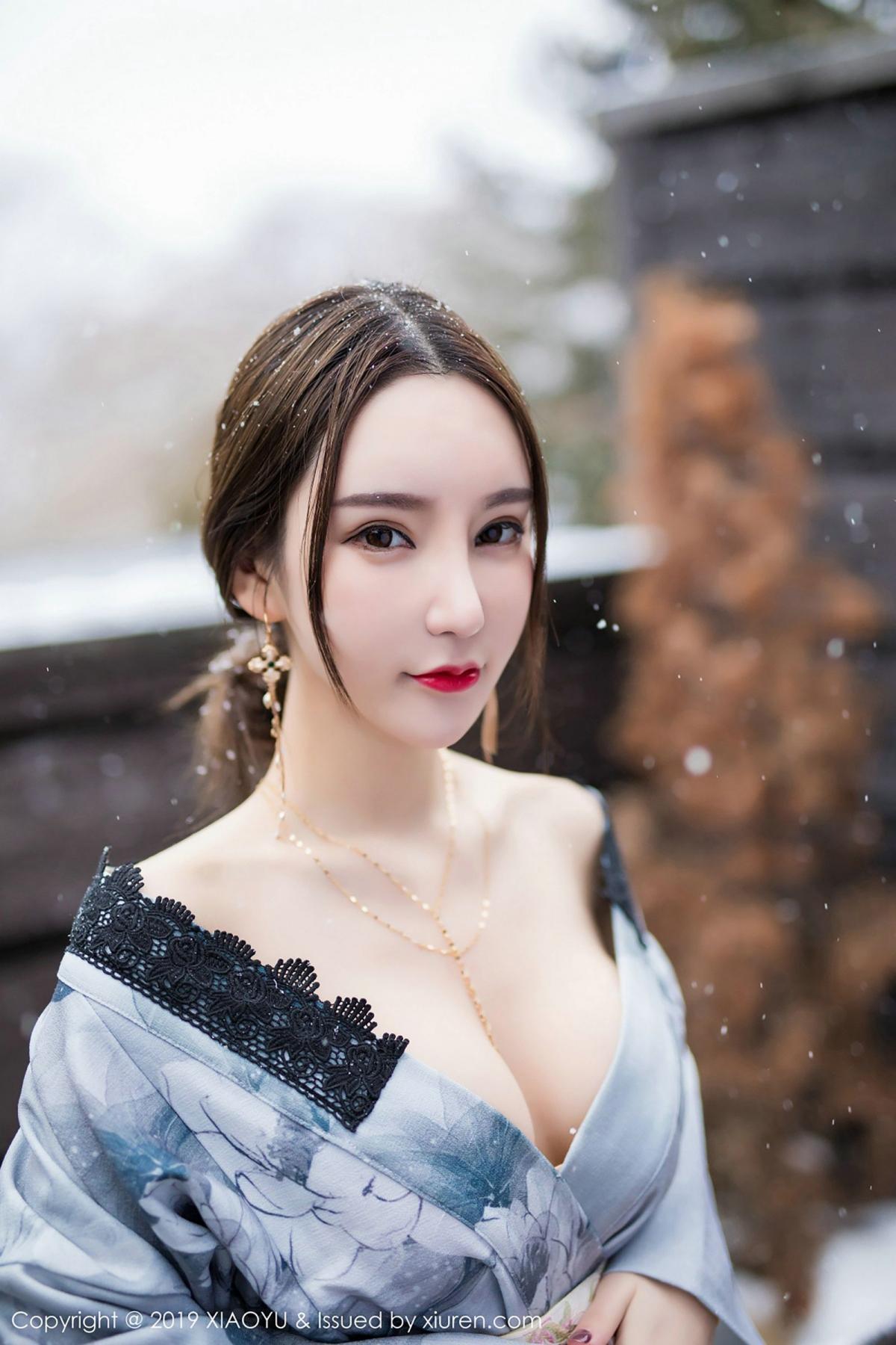 [XiaoYu] Vol.007 Zhou Yu Xi 35P, Snow, Tall, XiaoYu, Zhou Yu Xi