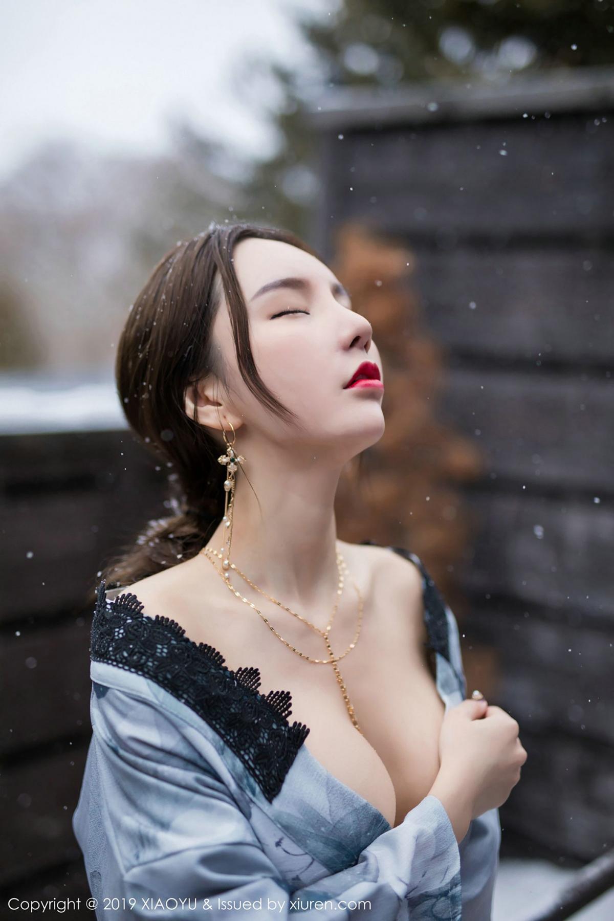 [XiaoYu] Vol.007 Zhou Yu Xi 39P, Snow, Tall, XiaoYu, Zhou Yu Xi