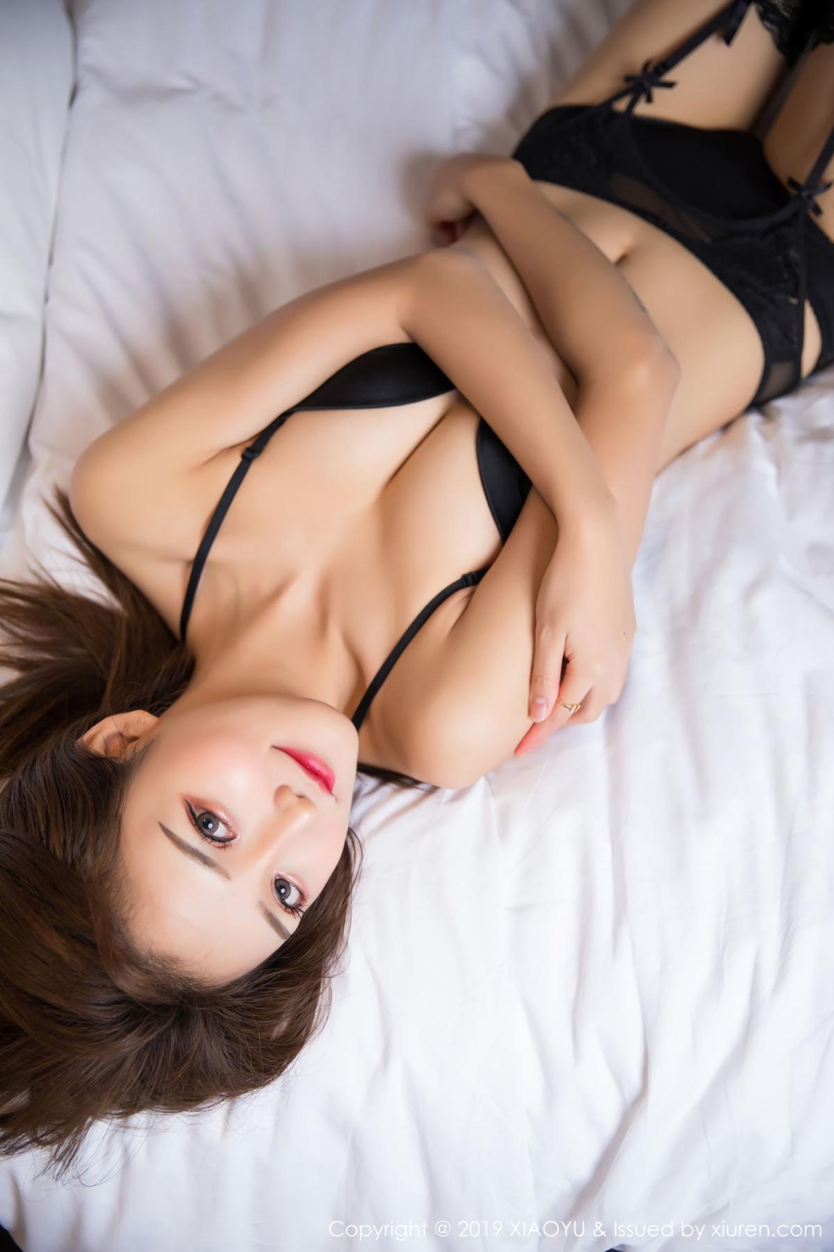 [XiaoYu] Vol.011 Miko Jiang 16P, Black Silk, Miko Jiang, Tall, Uniform, XiaoYu