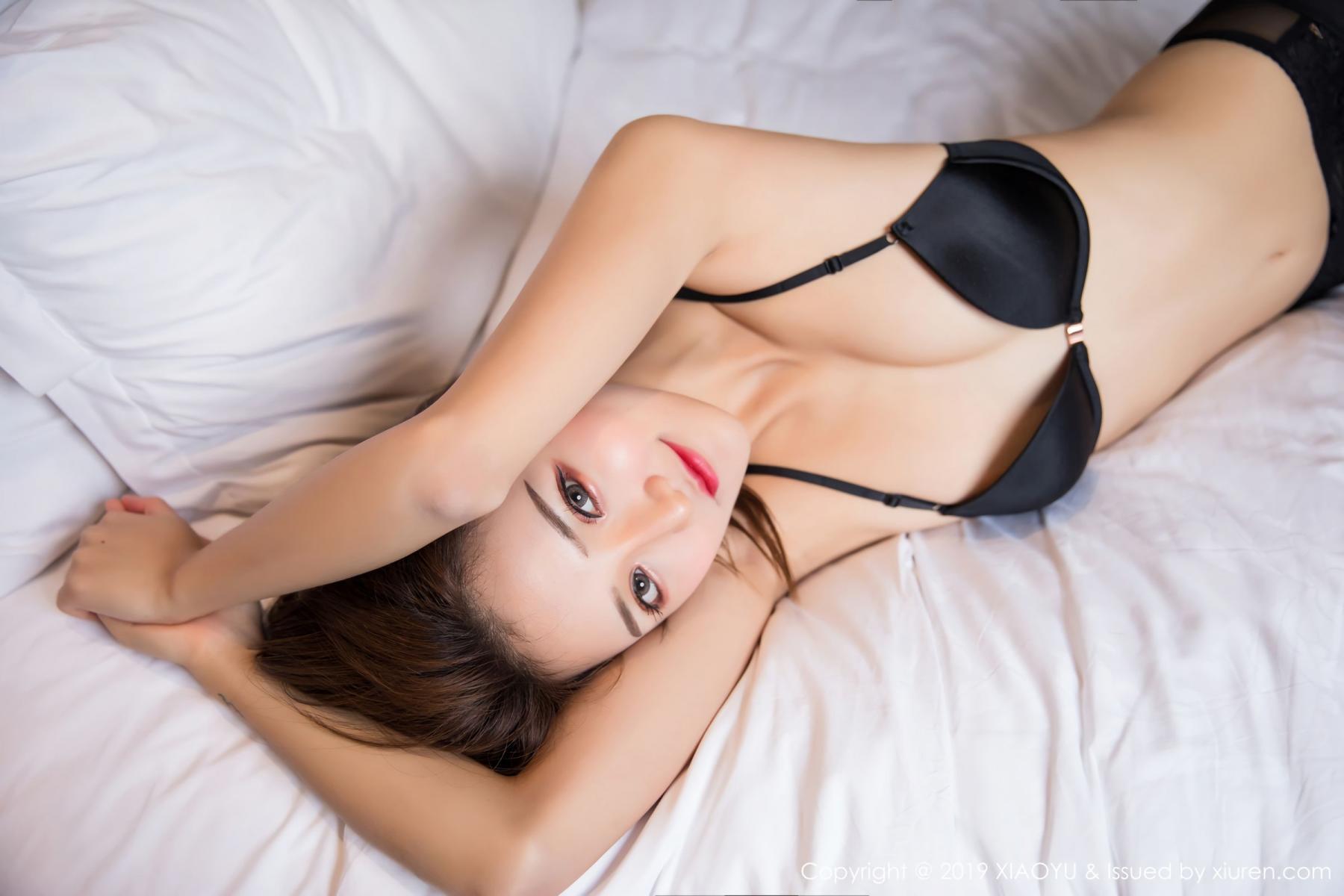[XiaoYu] Vol.011 Miko Jiang 25P, Black Silk, Miko Jiang, Tall, Uniform, XiaoYu