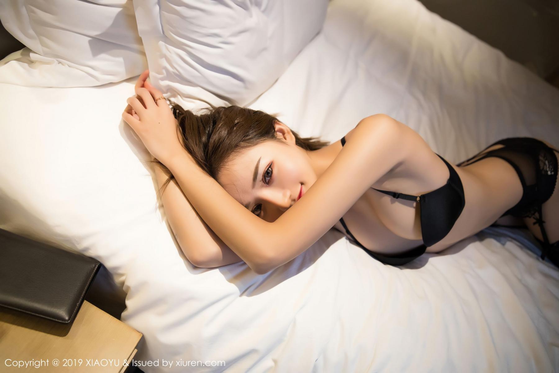 [XiaoYu] Vol.011 Miko Jiang 28P, Black Silk, Miko Jiang, Tall, Uniform, XiaoYu