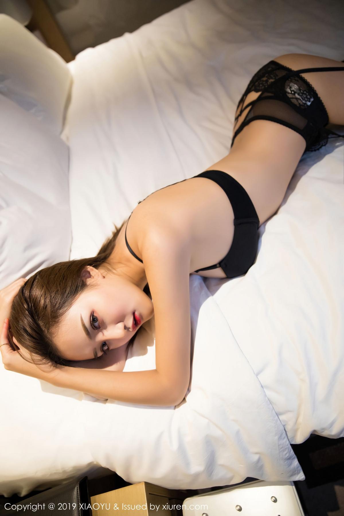 [XiaoYu] Vol.011 Miko Jiang 30P, Black Silk, Miko Jiang, Tall, Uniform, XiaoYu