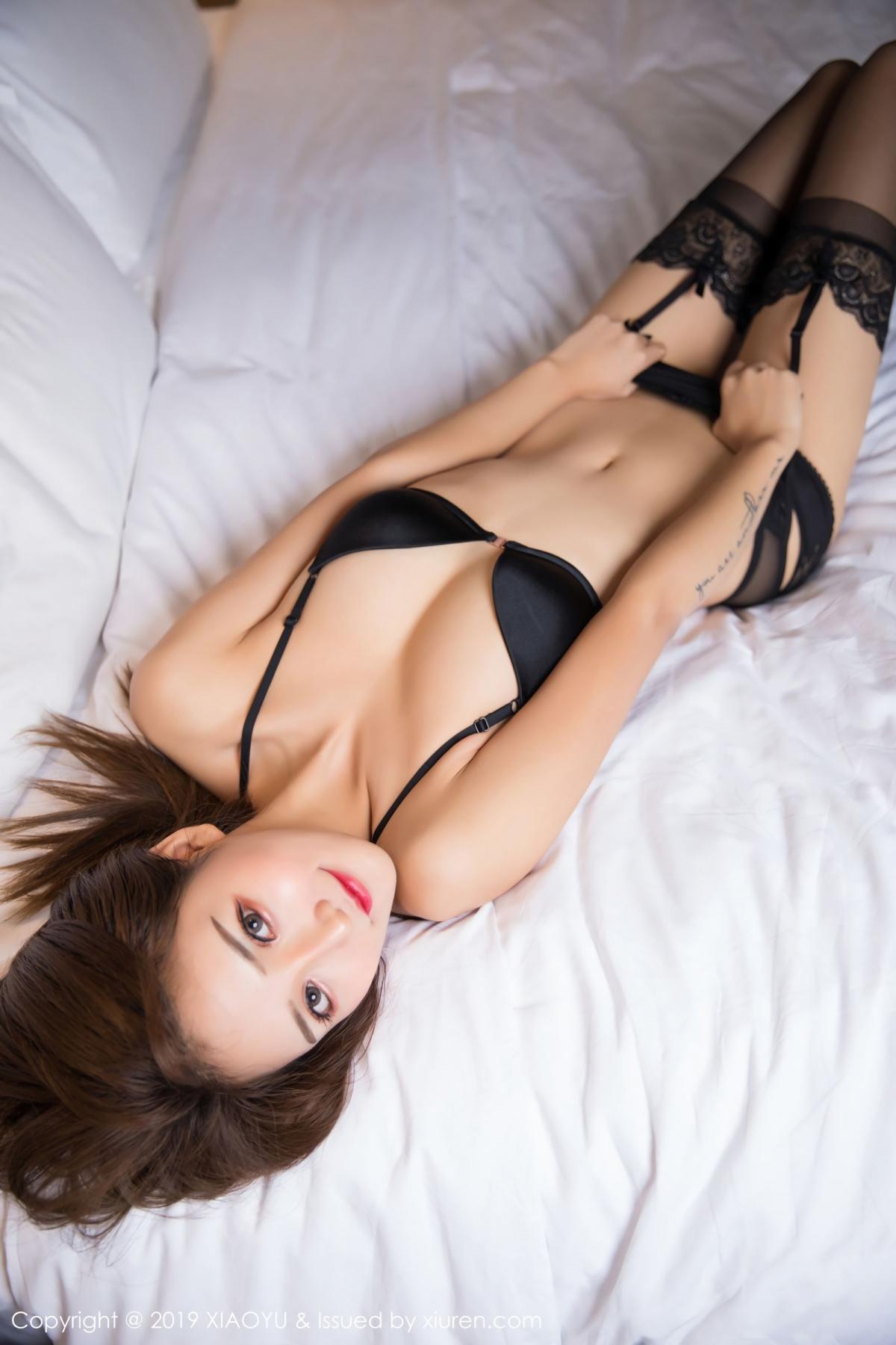 [XiaoYu] Vol.011 Miko Jiang 45P, Black Silk, Miko Jiang, Tall, Uniform, XiaoYu