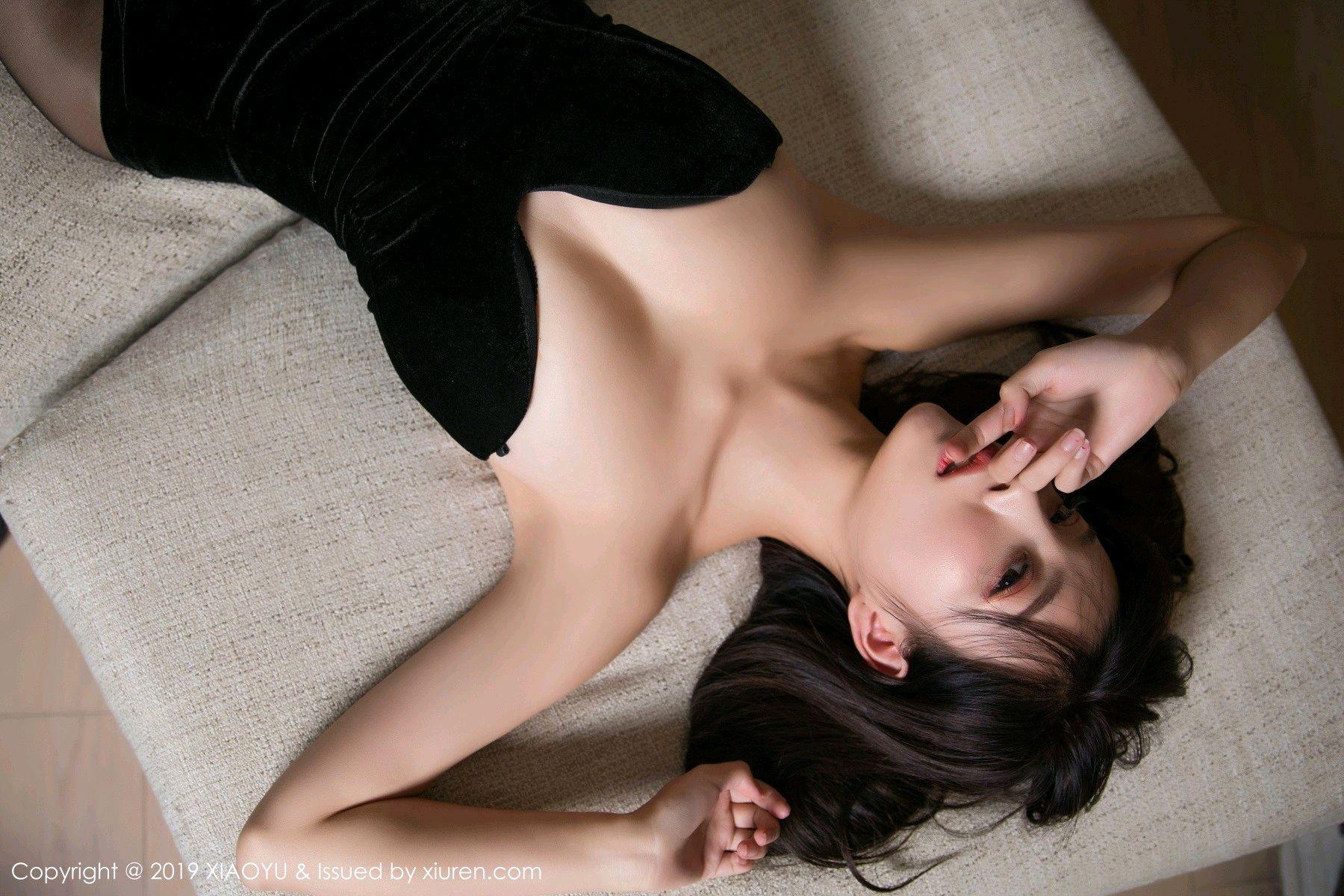 [XiaoYu] Vol.012 Yang Chen Chen 27P, Black Silk, Tall, XiaoYu, Yang Chen Chen