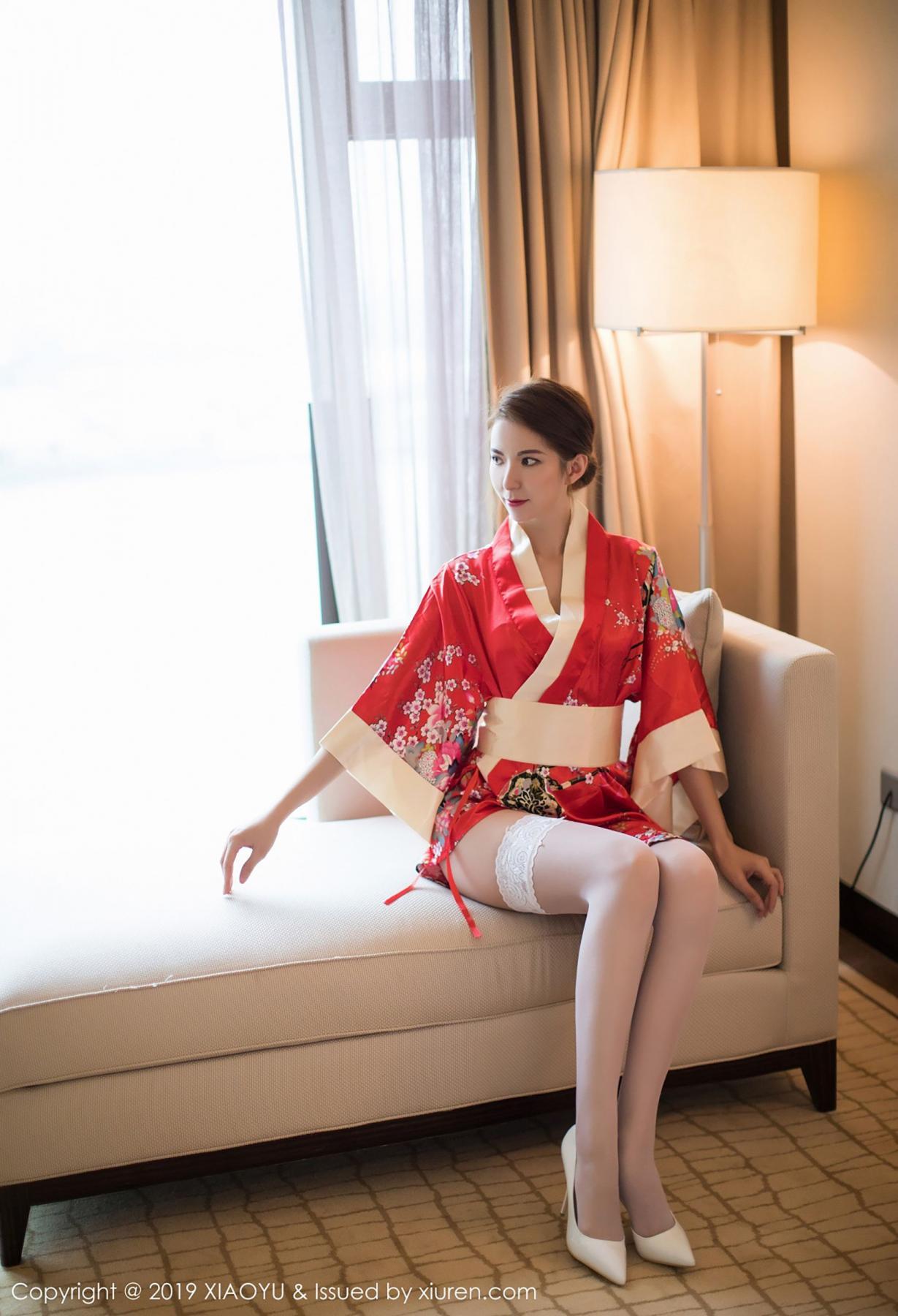 [XiaoYu] Vol.014 Chen Liang Ling 11P, Chen Liang Ling, Kimono, Tall, XiaoYu