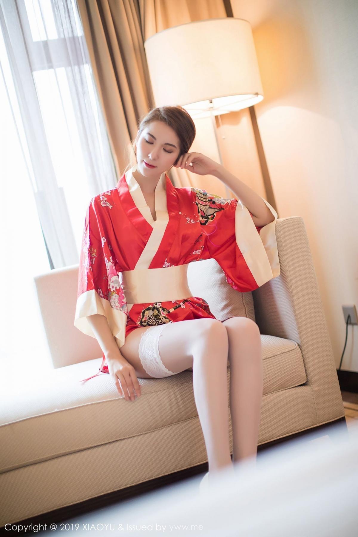 [XiaoYu] Vol.014 Chen Liang Ling 12P, Chen Liang Ling, Kimono, Tall, XiaoYu