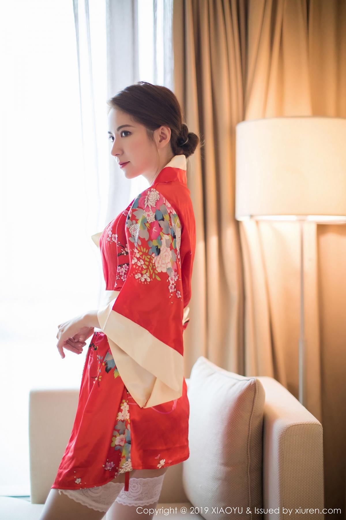 [XiaoYu] Vol.014 Chen Liang Ling 14P, Chen Liang Ling, Kimono, Tall, XiaoYu