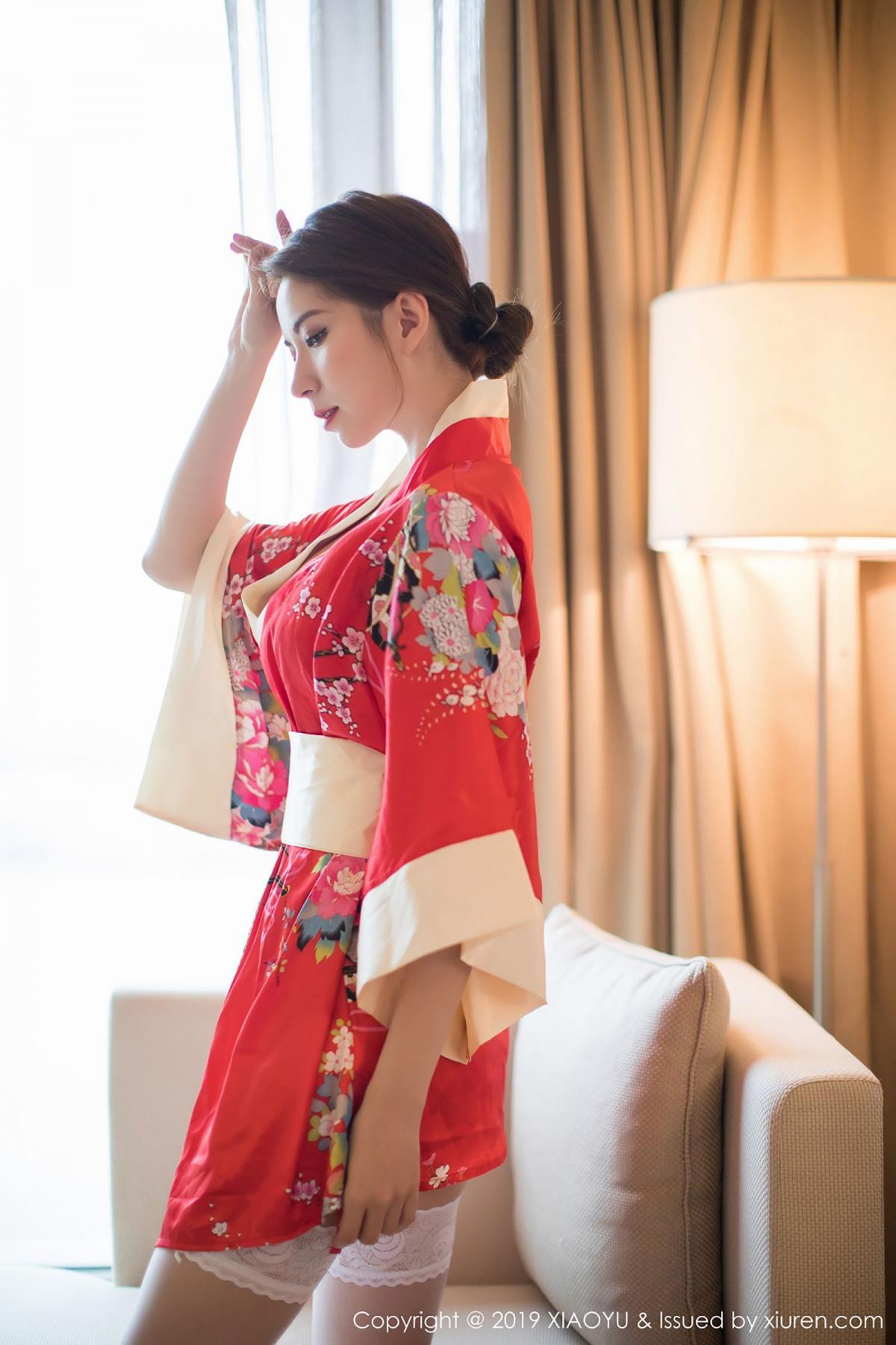 [XiaoYu] Vol.014 Chen Liang Ling 15P, Chen Liang Ling, Kimono, Tall, XiaoYu