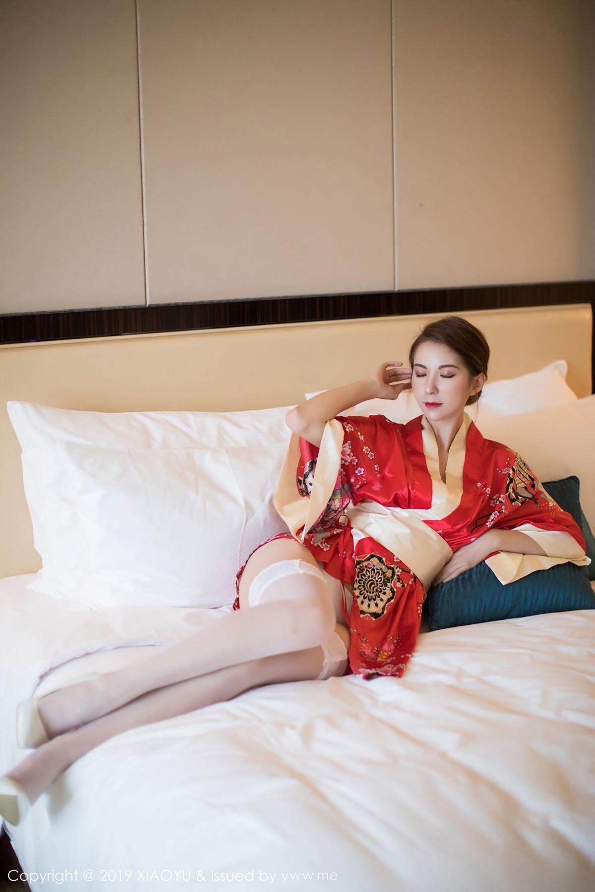 [XiaoYu] Vol.014 Chen Liang Ling 16P, Chen Liang Ling, Kimono, Tall, XiaoYu