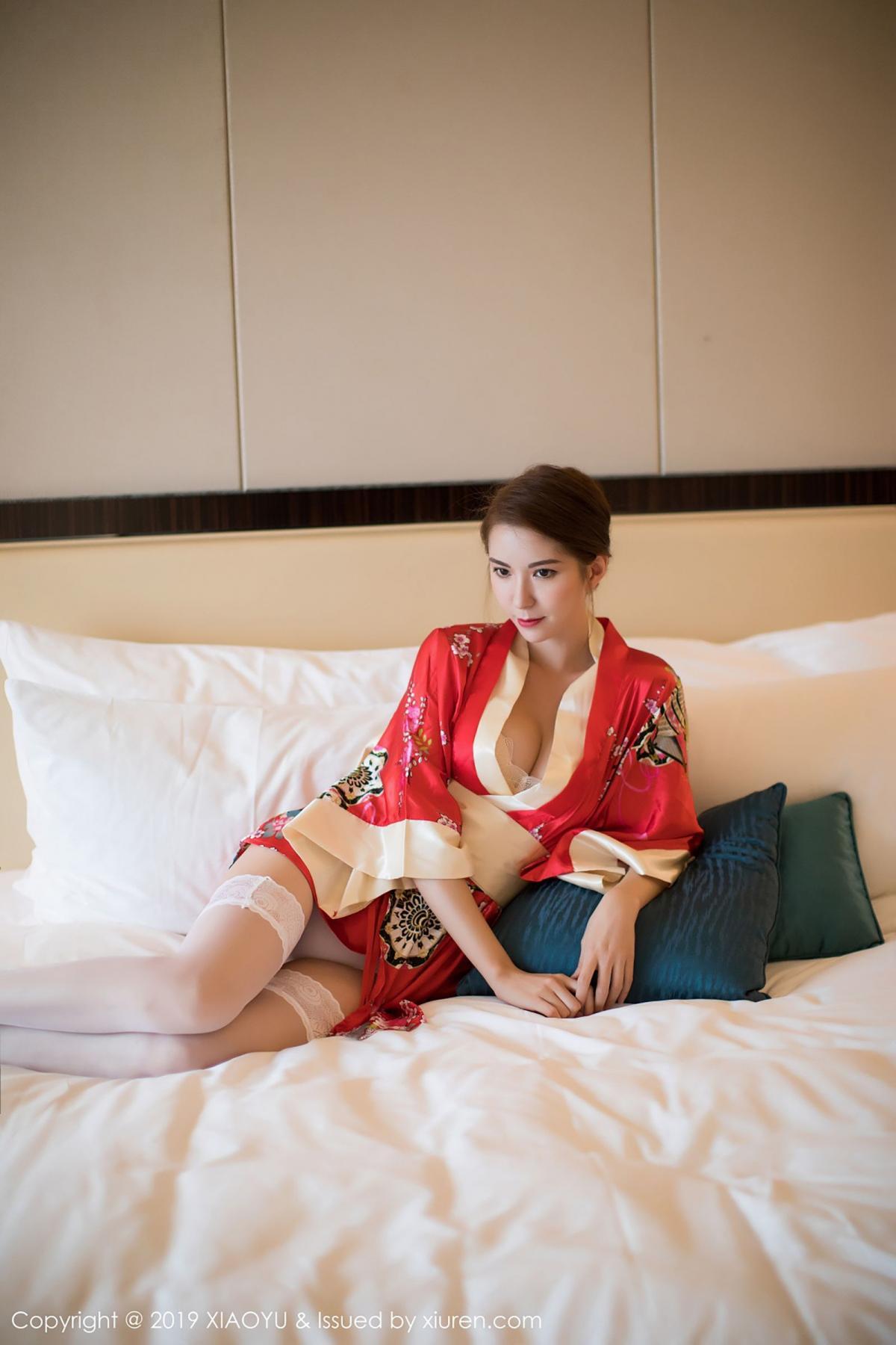 [XiaoYu] Vol.014 Chen Liang Ling 17P, Chen Liang Ling, Kimono, Tall, XiaoYu