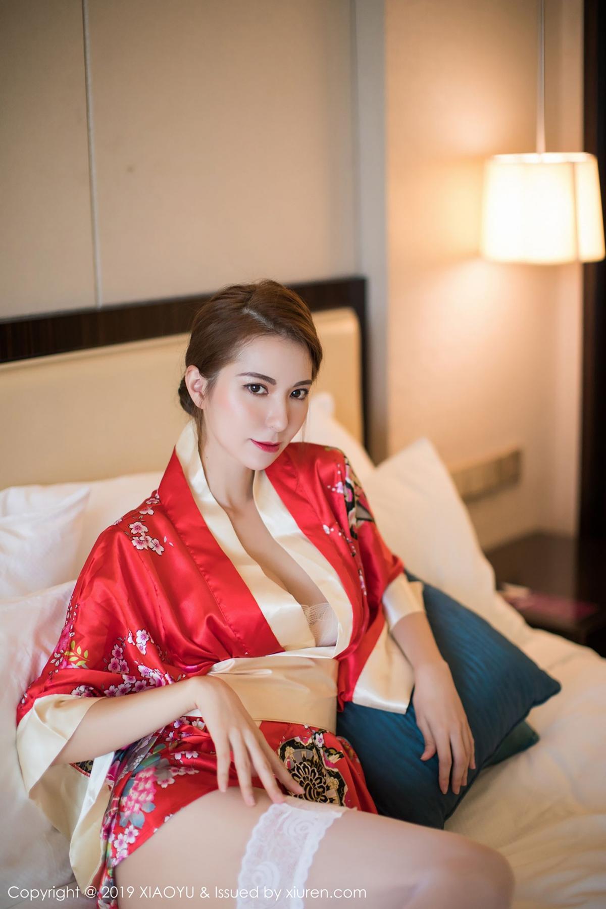 [XiaoYu] Vol.014 Chen Liang Ling 20P, Chen Liang Ling, Kimono, Tall, XiaoYu