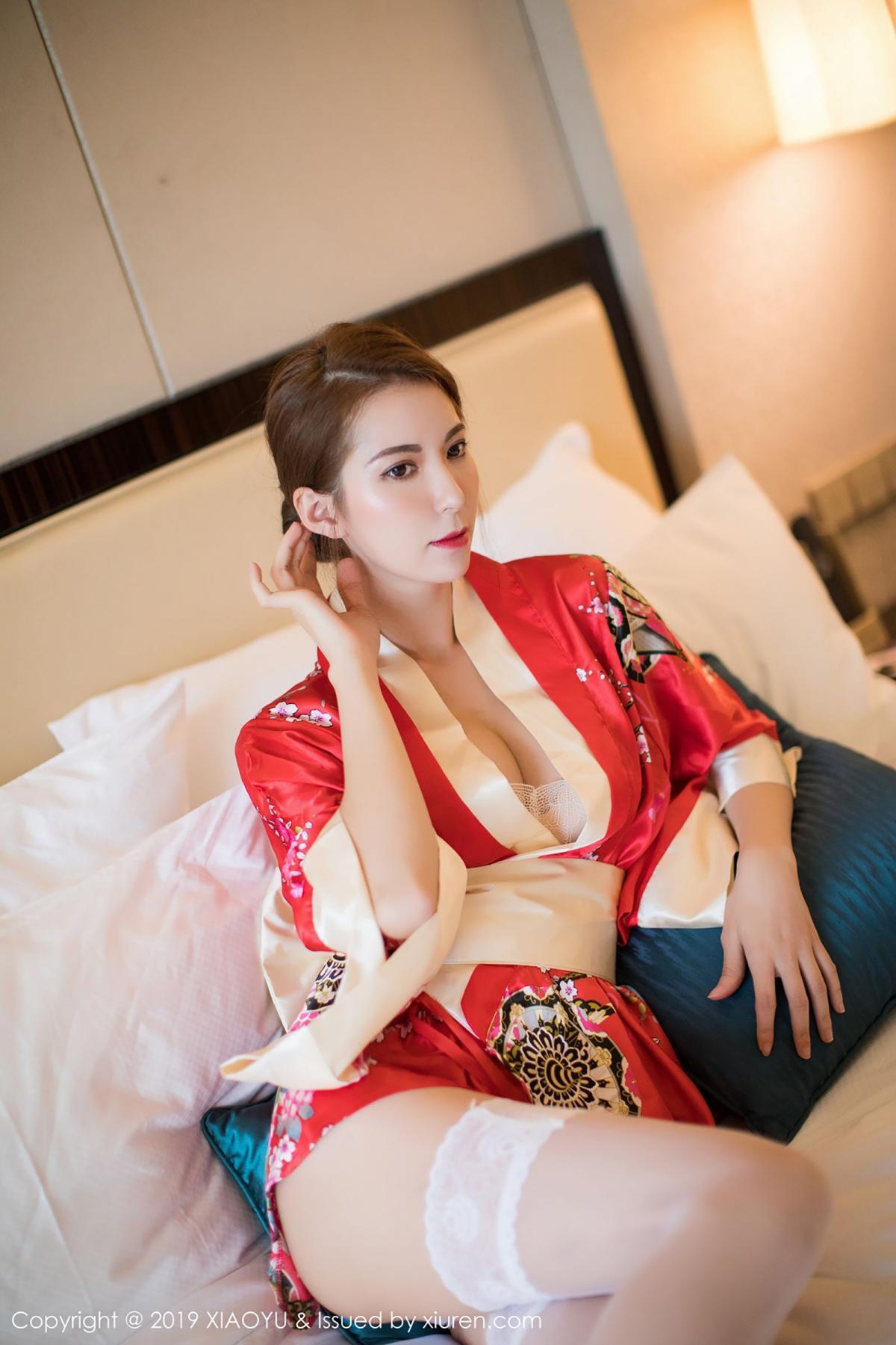 [XiaoYu] Vol.014 Chen Liang Ling 21P, Chen Liang Ling, Kimono, Tall, XiaoYu