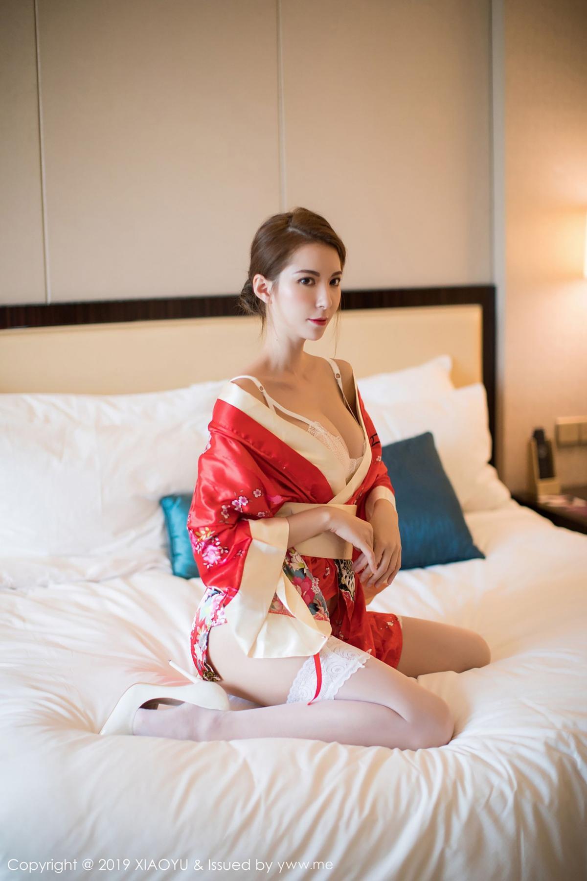 [XiaoYu] Vol.014 Chen Liang Ling 22P, Chen Liang Ling, Kimono, Tall, XiaoYu