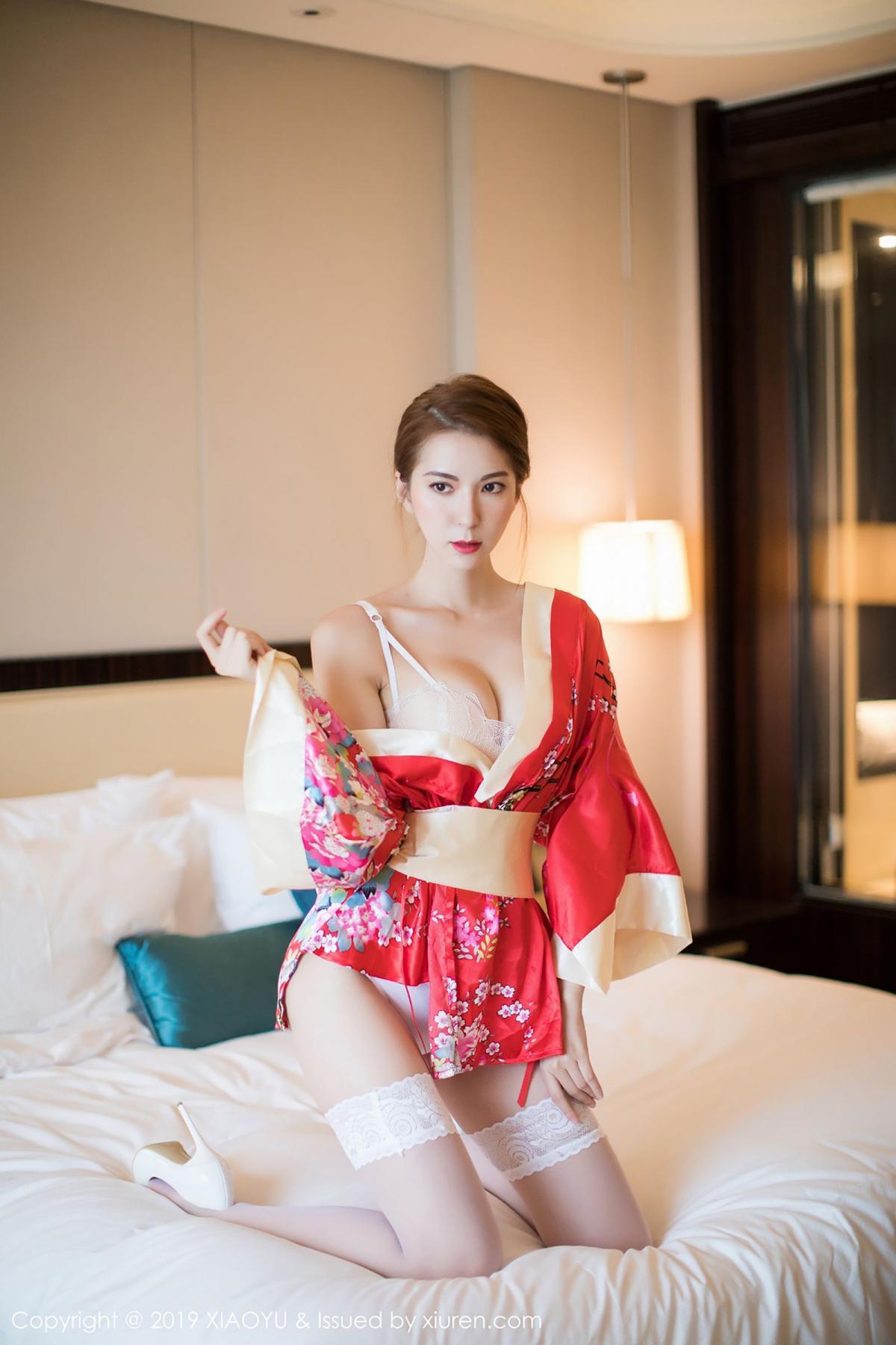[XiaoYu] Vol.014 Chen Liang Ling 24P, Chen Liang Ling, Kimono, Tall, XiaoYu