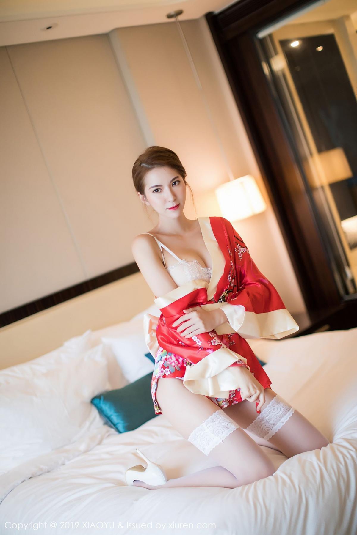 [XiaoYu] Vol.014 Chen Liang Ling 25P, Chen Liang Ling, Kimono, Tall, XiaoYu