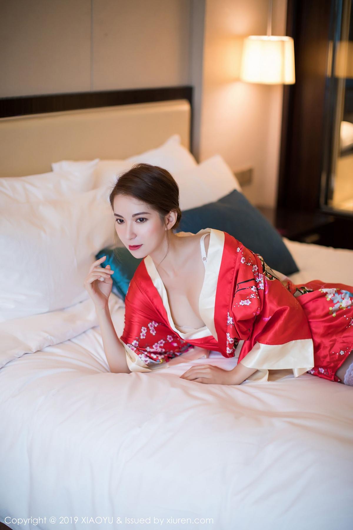[XiaoYu] Vol.014 Chen Liang Ling 31P, Chen Liang Ling, Kimono, Tall, XiaoYu