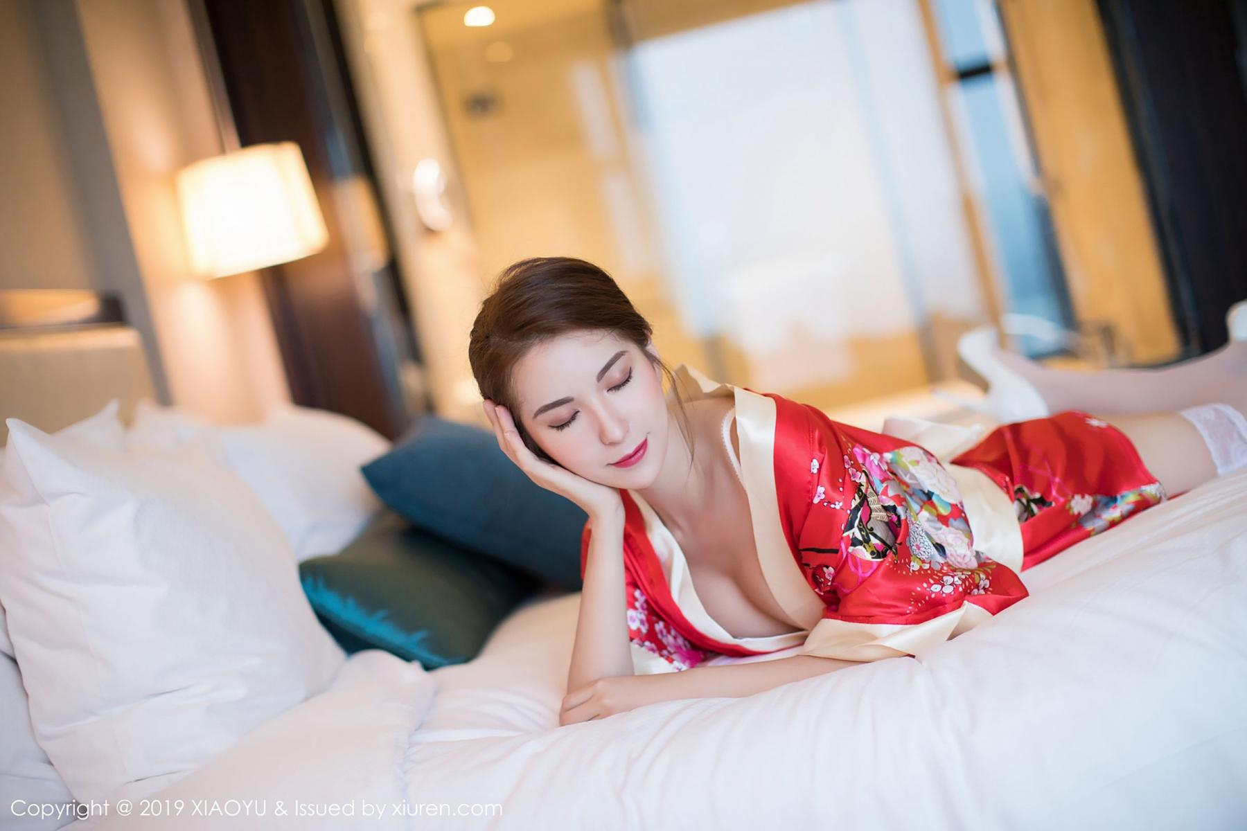 [XiaoYu] Vol.014 Chen Liang Ling 32P, Chen Liang Ling, Kimono, Tall, XiaoYu