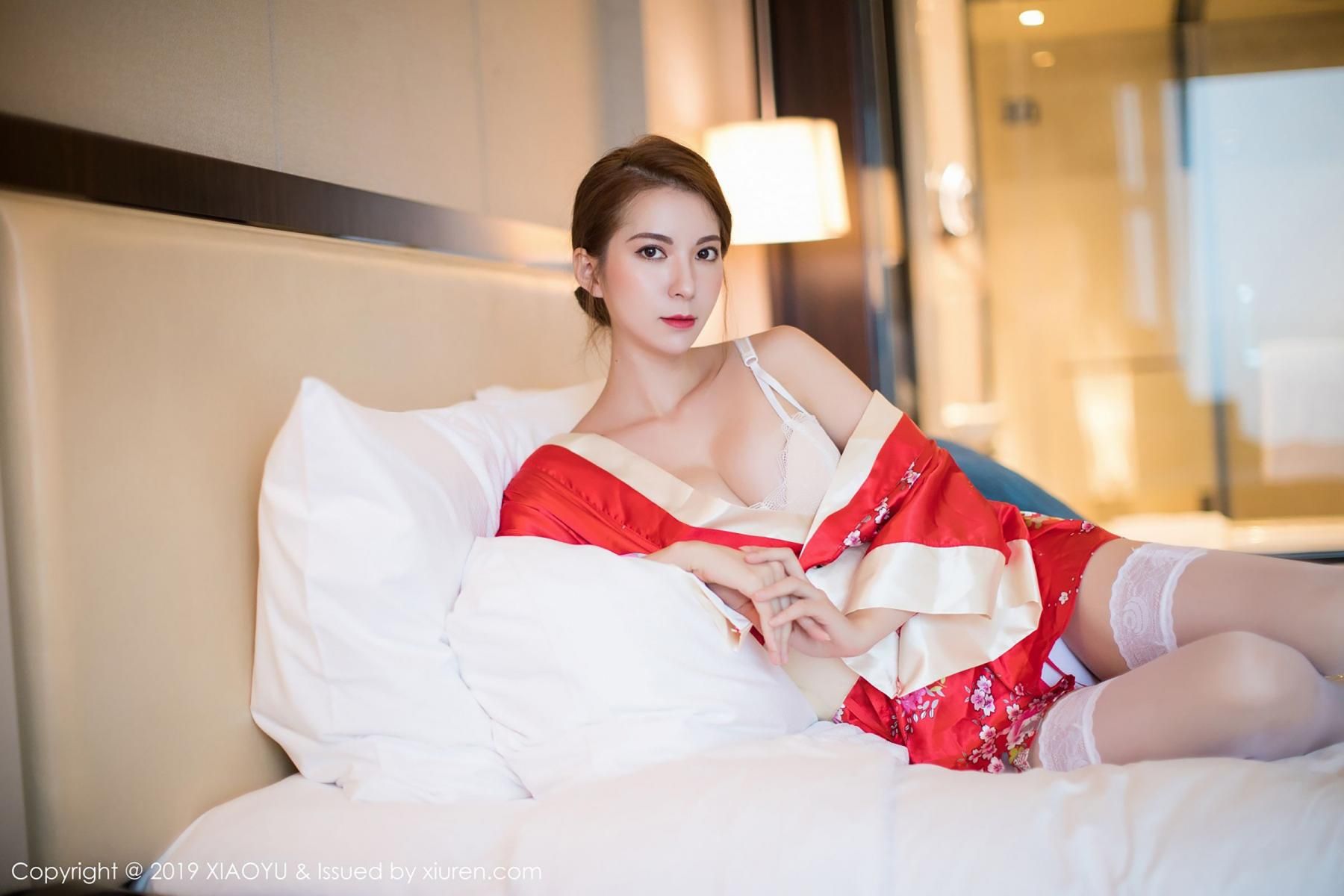 [XiaoYu] Vol.014 Chen Liang Ling 34P, Chen Liang Ling, Kimono, Tall, XiaoYu