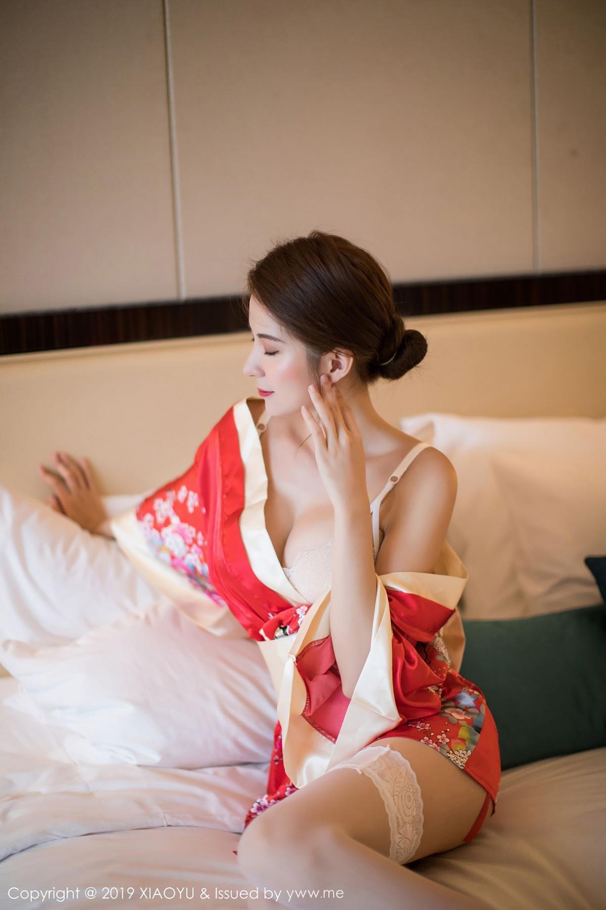 [XiaoYu] Vol.014 Chen Liang Ling 36P, Chen Liang Ling, Kimono, Tall, XiaoYu