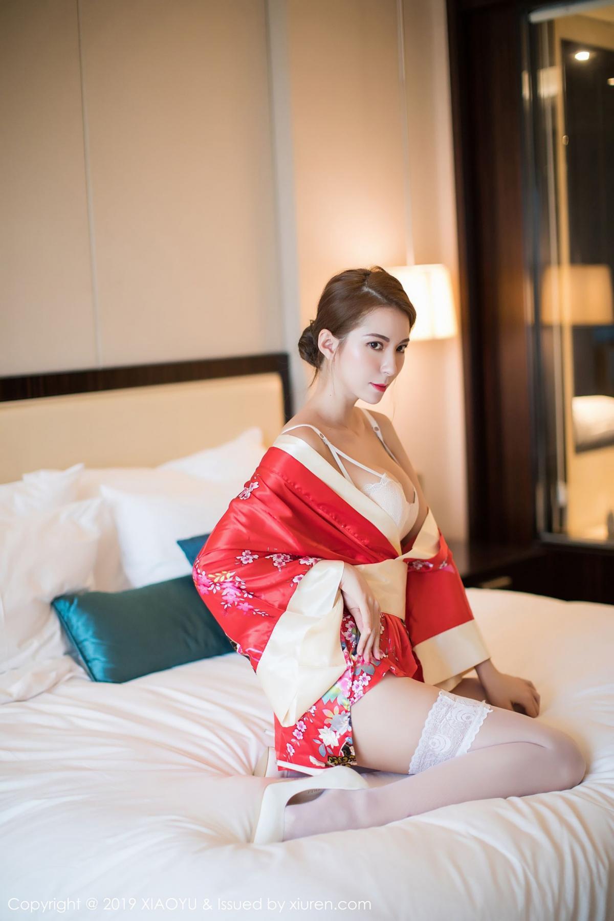 [XiaoYu] Vol.014 Chen Liang Ling 3P, Chen Liang Ling, Kimono, Tall, XiaoYu