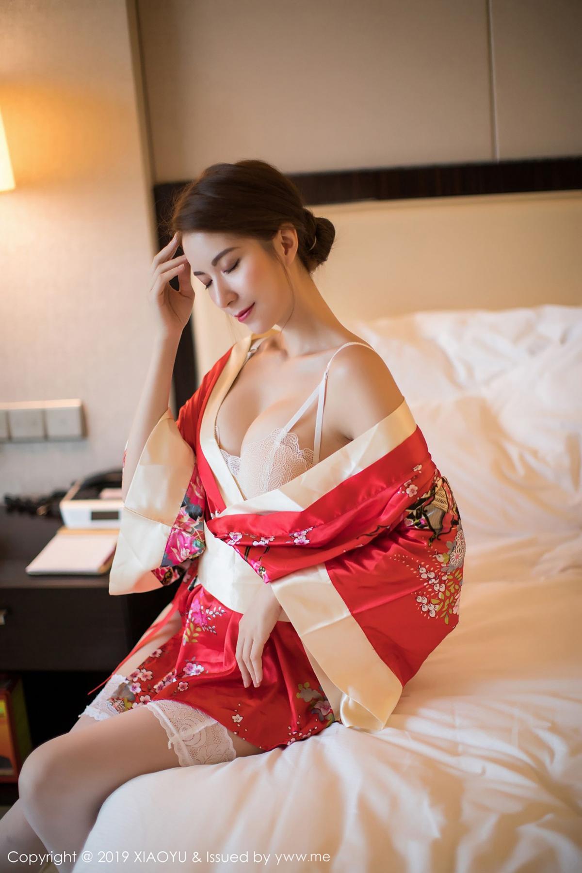 [XiaoYu] Vol.014 Chen Liang Ling 40P, Chen Liang Ling, Kimono, Tall, XiaoYu