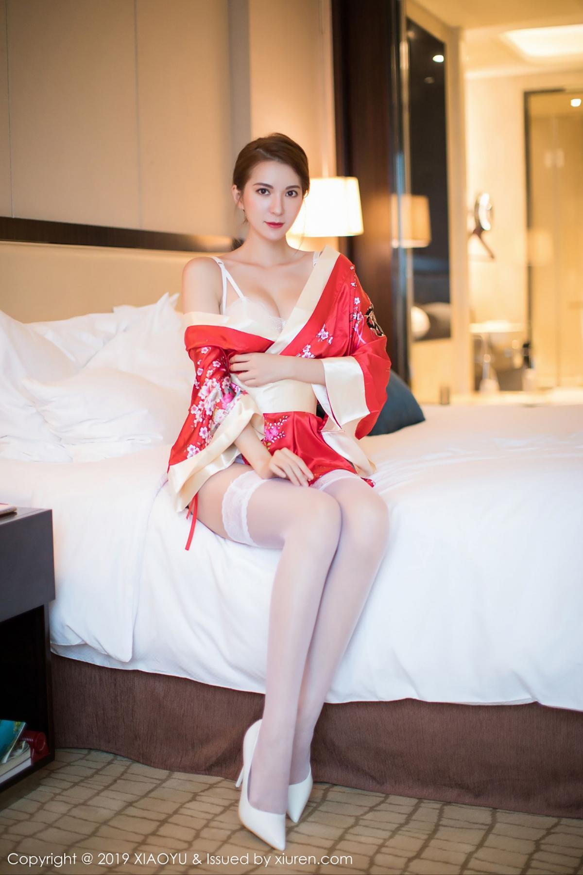 [XiaoYu] Vol.014 Chen Liang Ling 44P, Chen Liang Ling, Kimono, Tall, XiaoYu