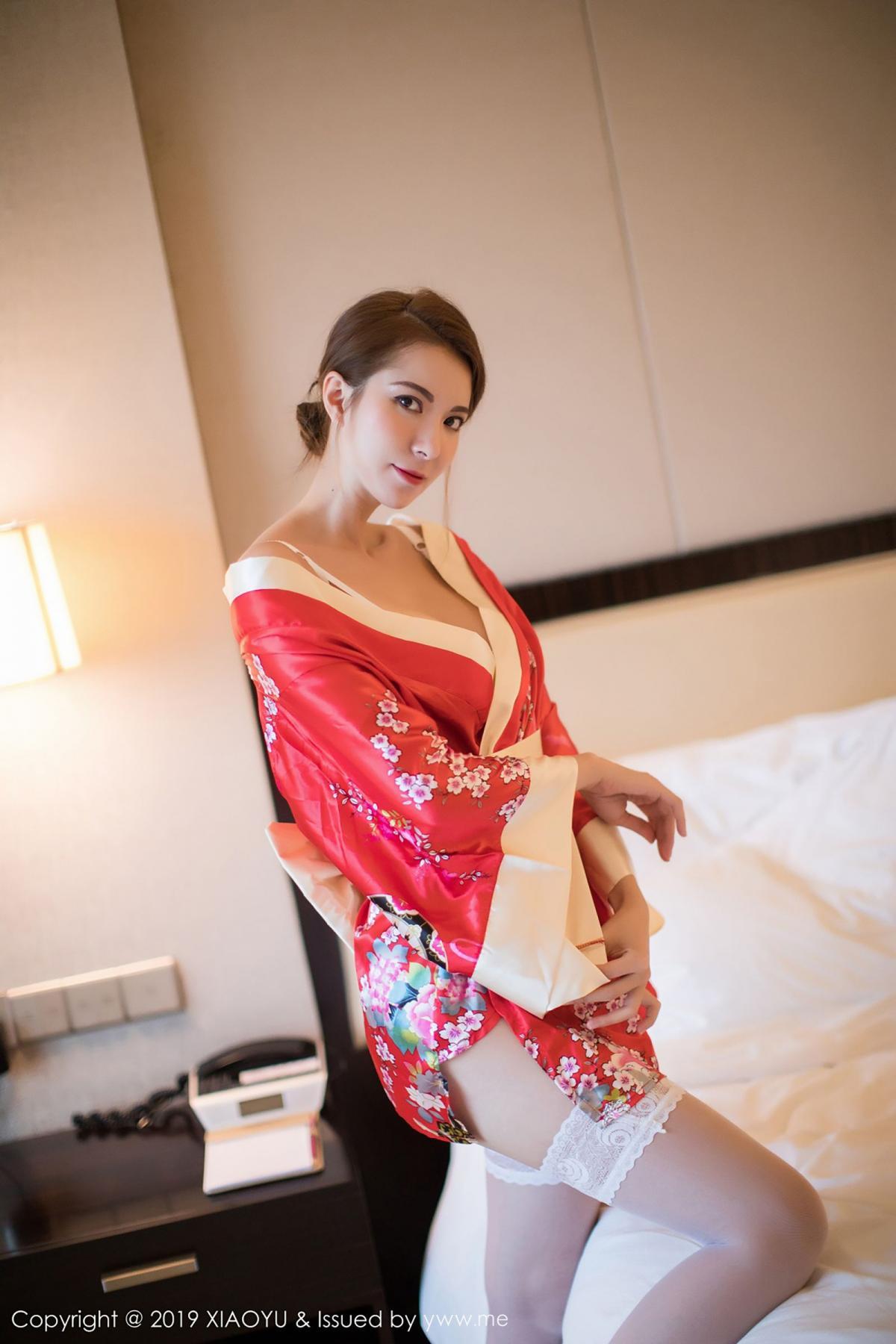 [XiaoYu] Vol.014 Chen Liang Ling 49P, Chen Liang Ling, Kimono, Tall, XiaoYu