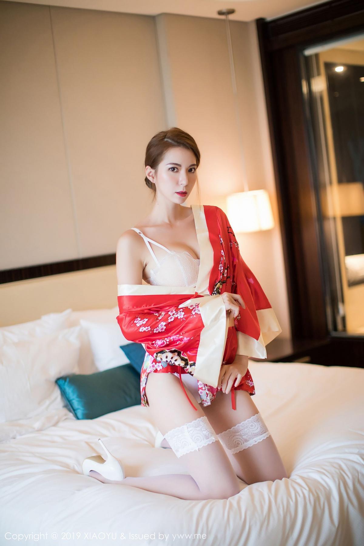[XiaoYu] Vol.014 Chen Liang Ling 4P, Chen Liang Ling, Kimono, Tall, XiaoYu