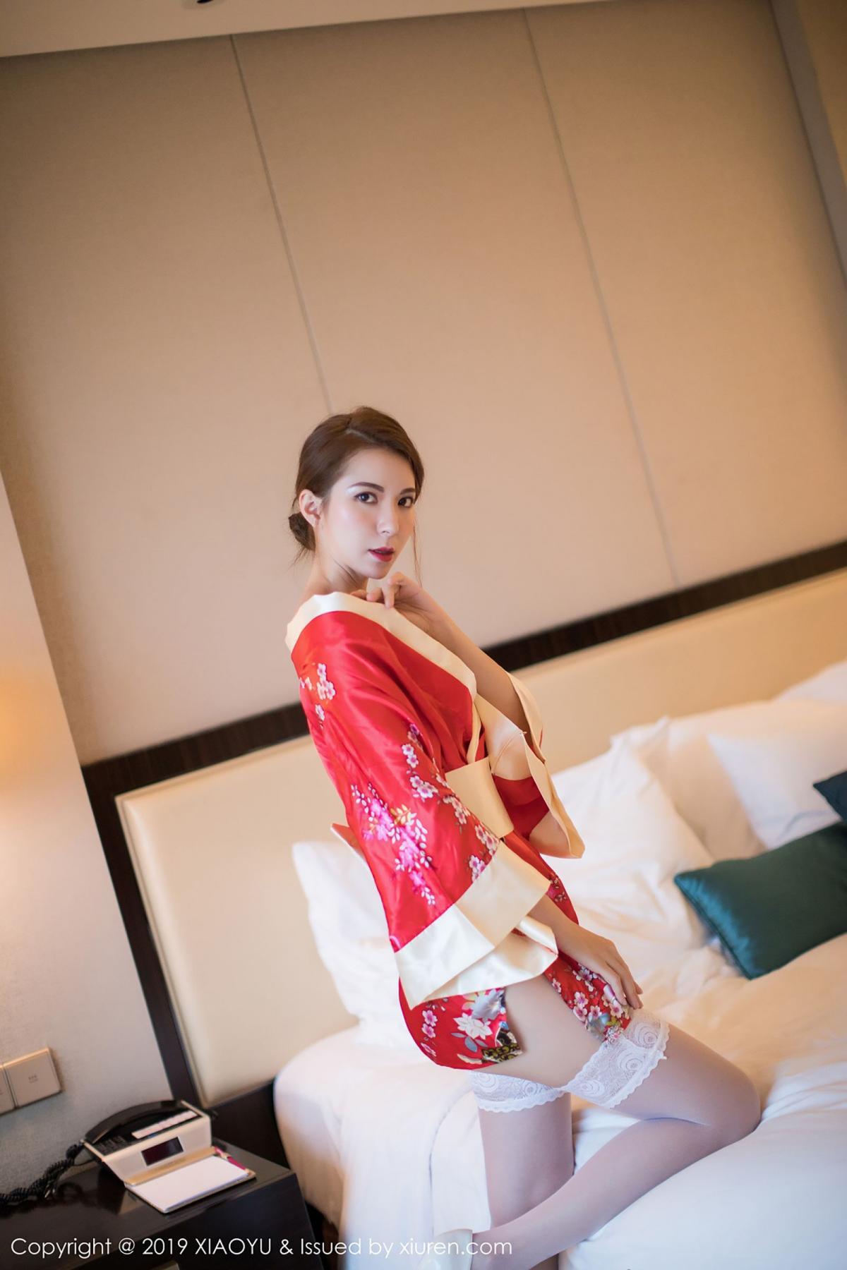 [XiaoYu] Vol.014 Chen Liang Ling 52P, Chen Liang Ling, Kimono, Tall, XiaoYu