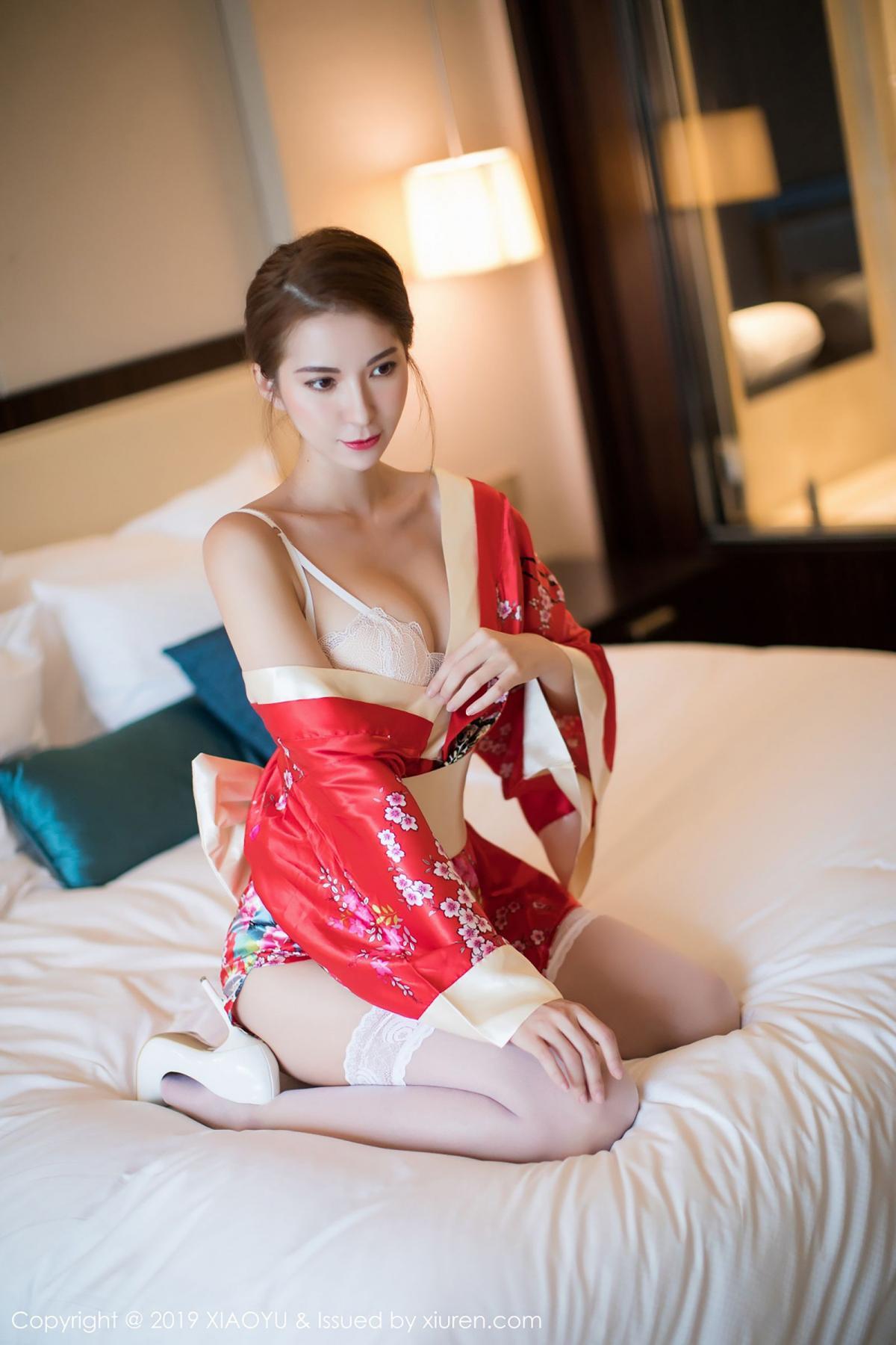 [XiaoYu] Vol.014 Chen Liang Ling 5P, Chen Liang Ling, Kimono, Tall, XiaoYu