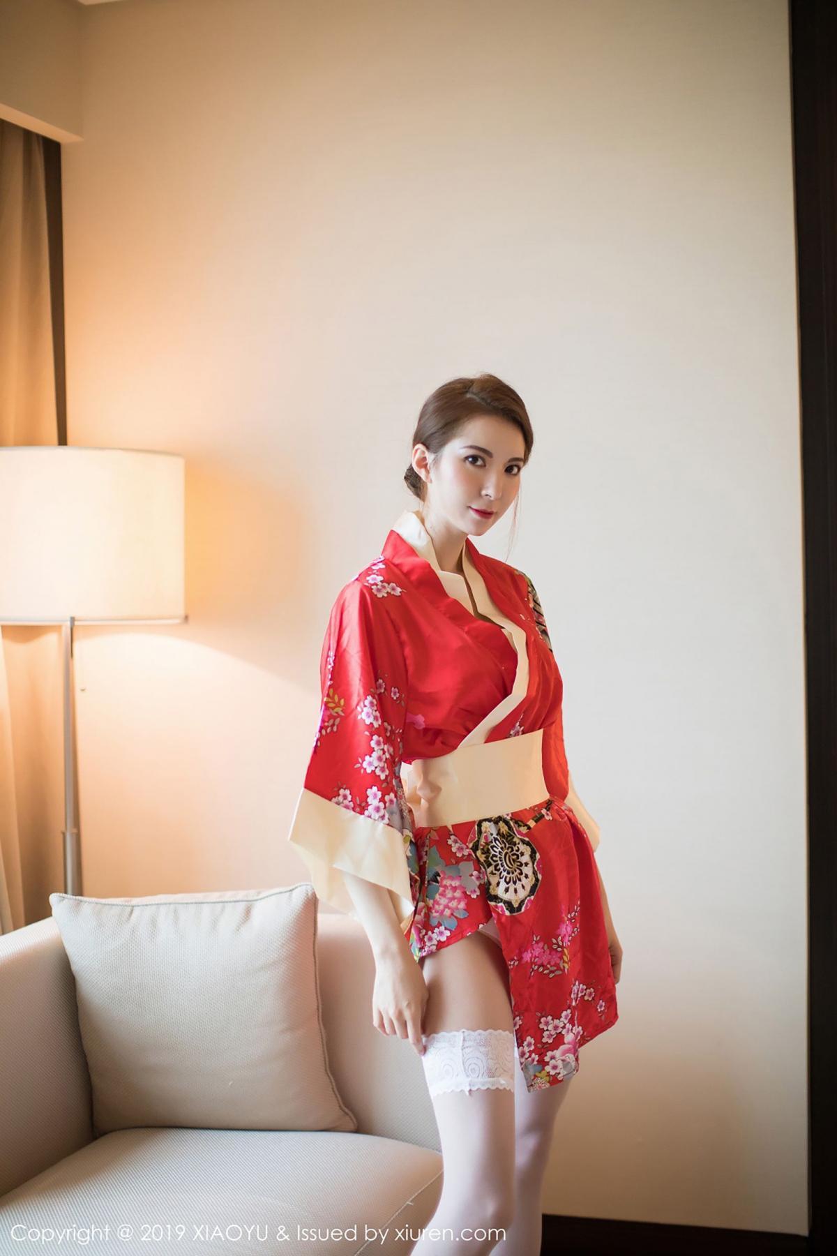 [XiaoYu] Vol.014 Chen Liang Ling 7P, Chen Liang Ling, Kimono, Tall, XiaoYu