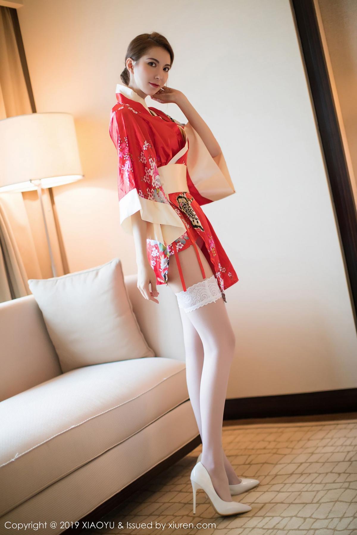 [XiaoYu] Vol.014 Chen Liang Ling 9P, Chen Liang Ling, Kimono, Tall, XiaoYu