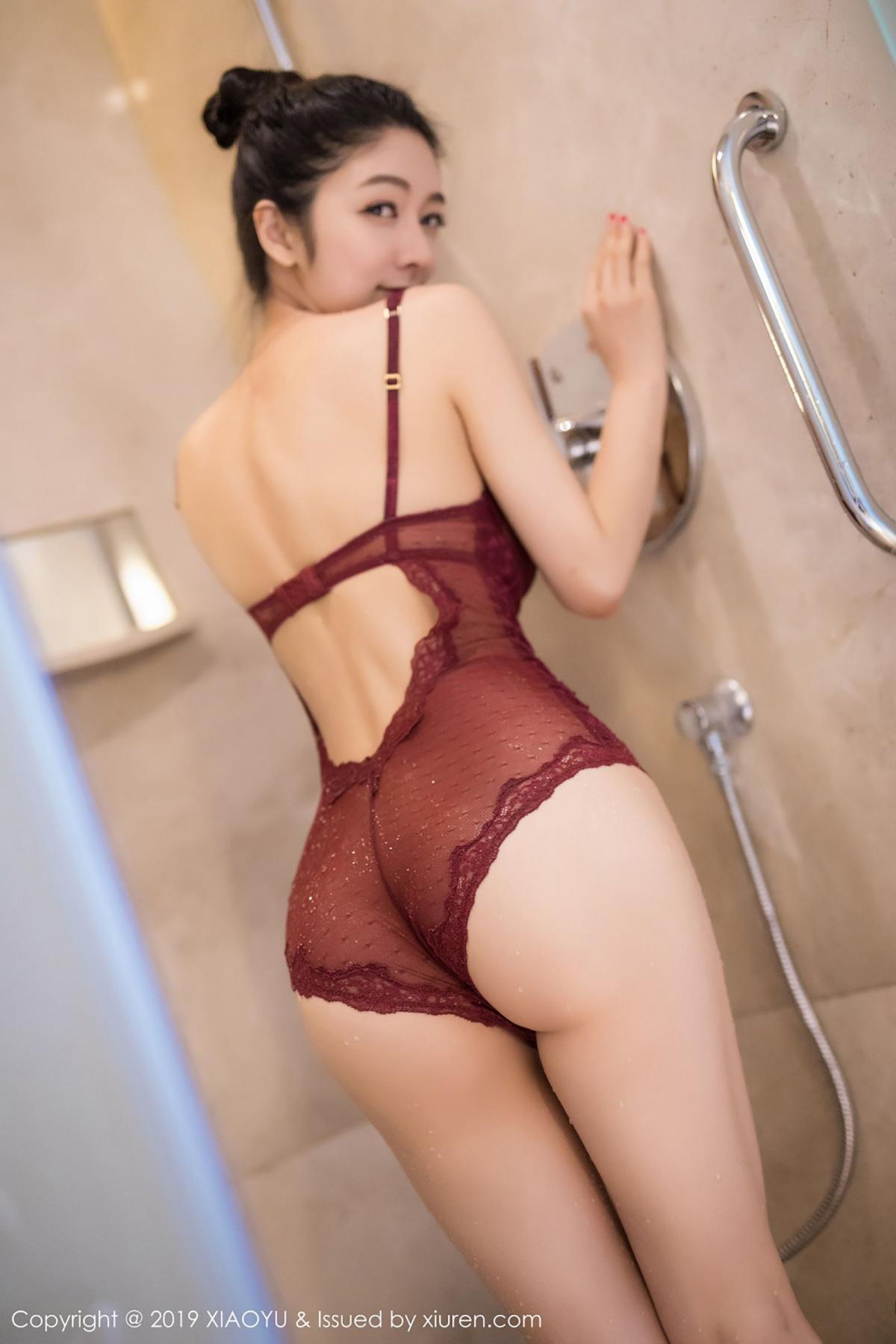 [XiaoYu] Vol.017 Di Yi 17P, Bathroom, Di Yi, Underwear, Wet, XiaoYu