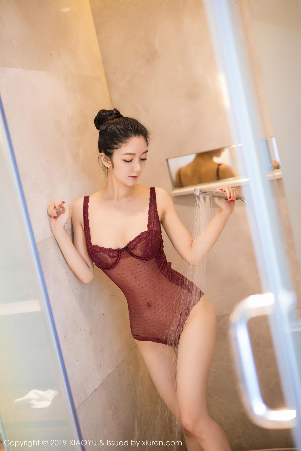 [XiaoYu] Vol.017 Di Yi 20P, Bathroom, Di Yi, Underwear, Wet, XiaoYu
